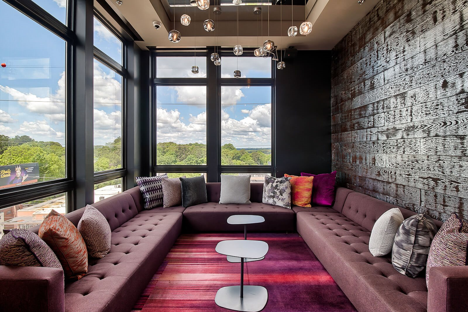 Resident Lounge with Gathering Spaces at Morningside Atlanta by Windsor, Atlanta, GA