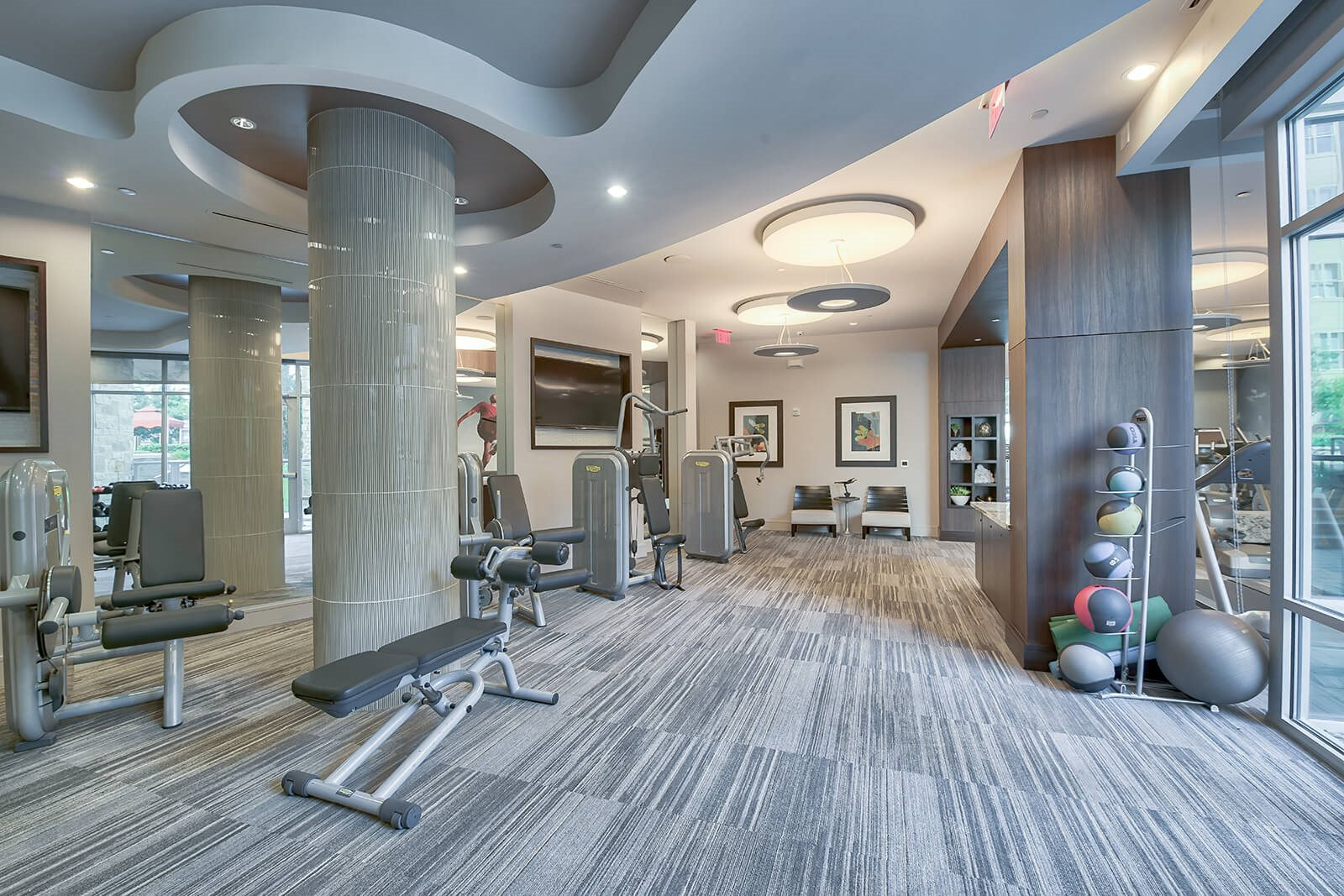 Fully-Equipped Fitness Center at Windsor South Lamar, Austin, 78704