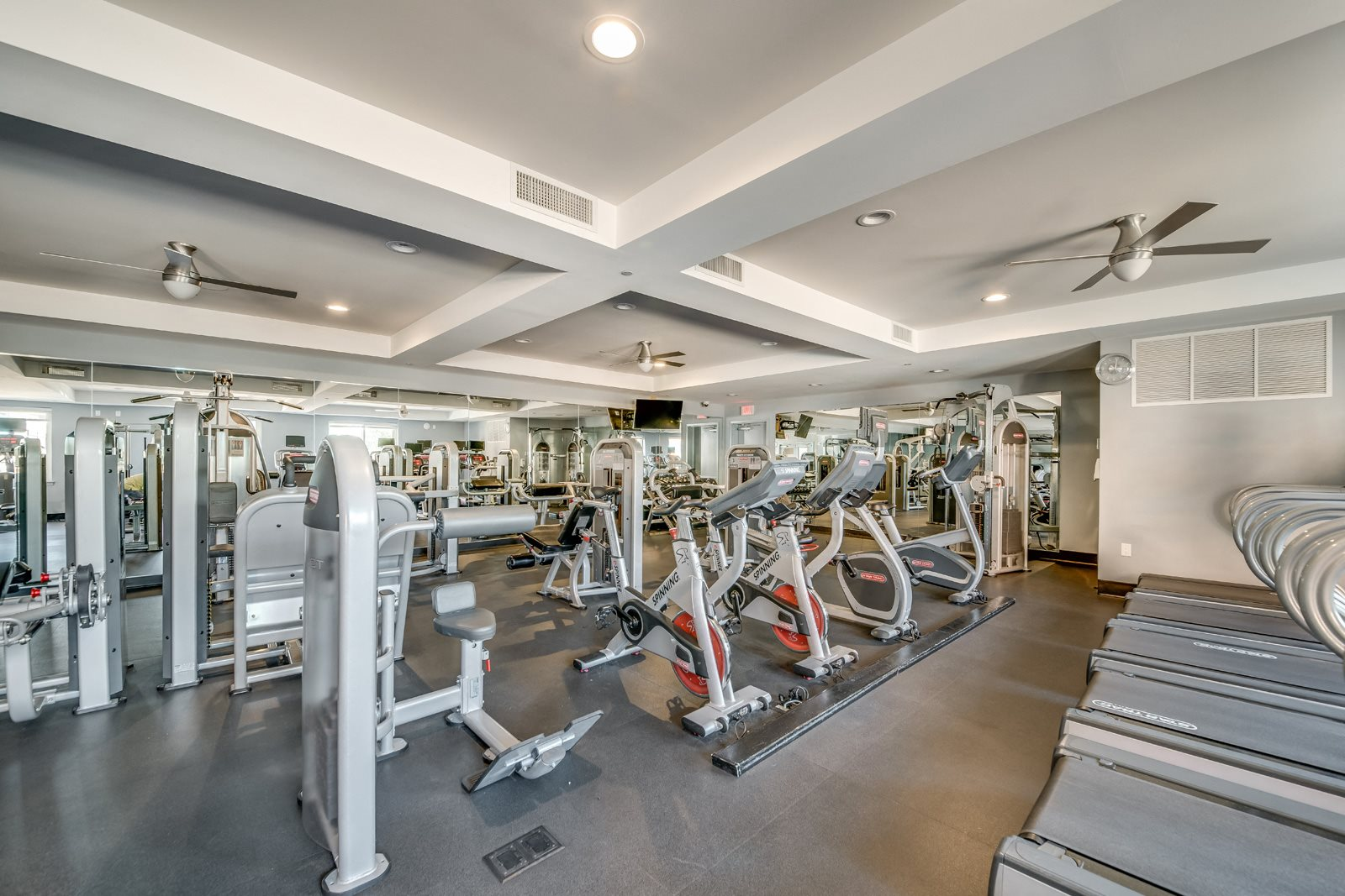 Fully Equipped Fitness Center at Twenty50 by Windsor, 2050 Central Road, Fort Lee