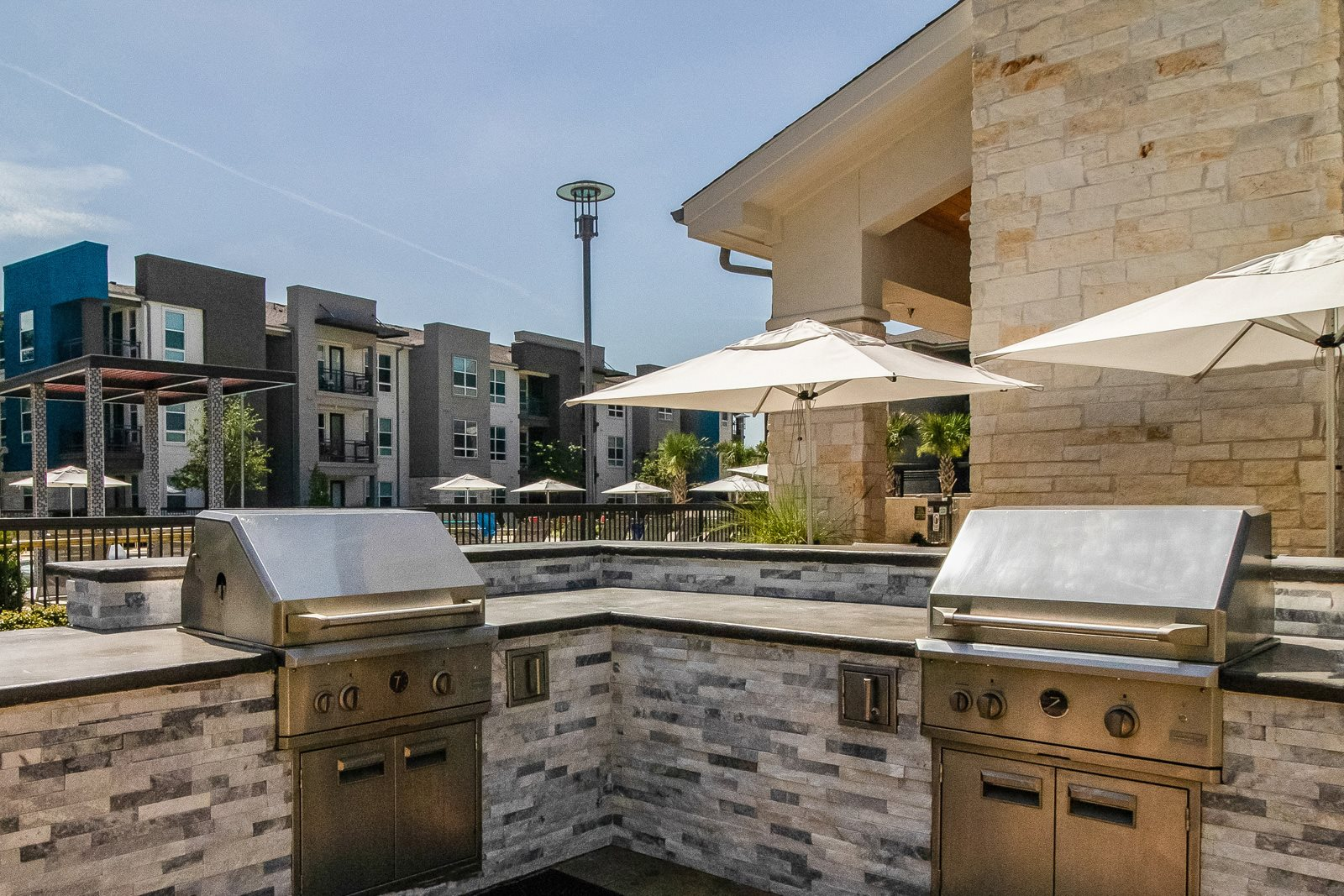 Outdoor Grilling Area at Windsor Republic Place, 5708 W Parmer Lane, Austin