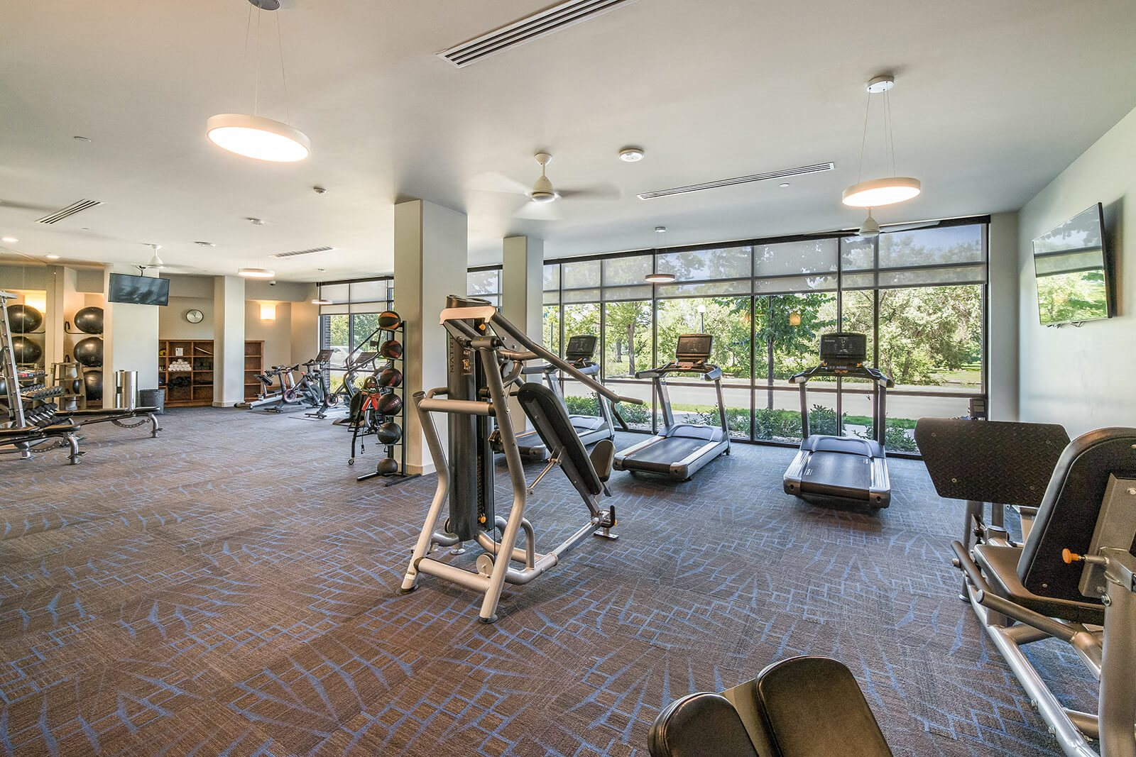 State-of-the-Art Fitness Center Equipped with Matrix at 1000 Speer by Windsor, Colorado, 80204