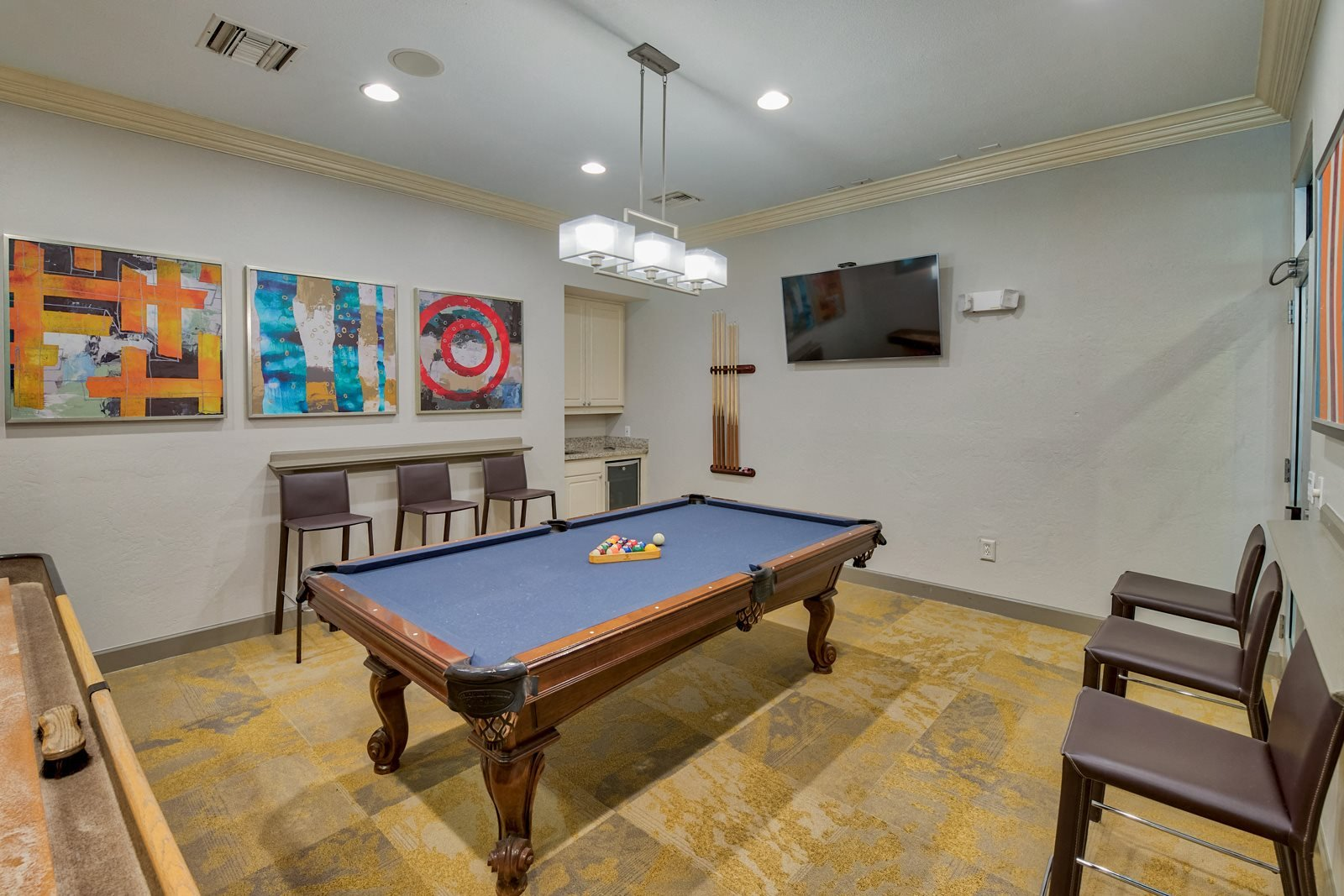 Billiards and Gaming Room at Windsor at Aviara, 6610 Ambrosia Lane, CA