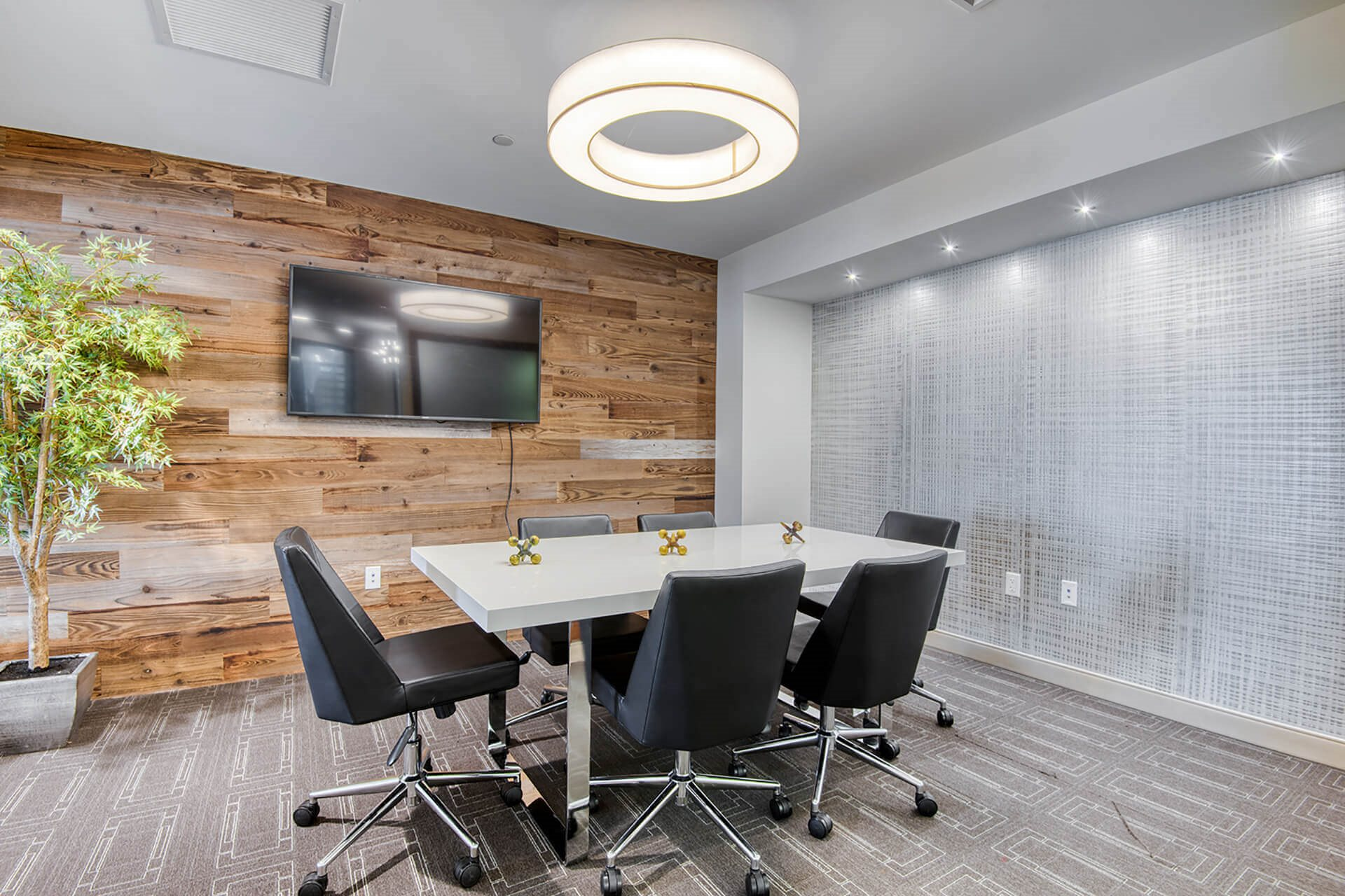 state-of-the-art conference room, at Hopkinton by Windsor, 5 Constitution Ct, MA