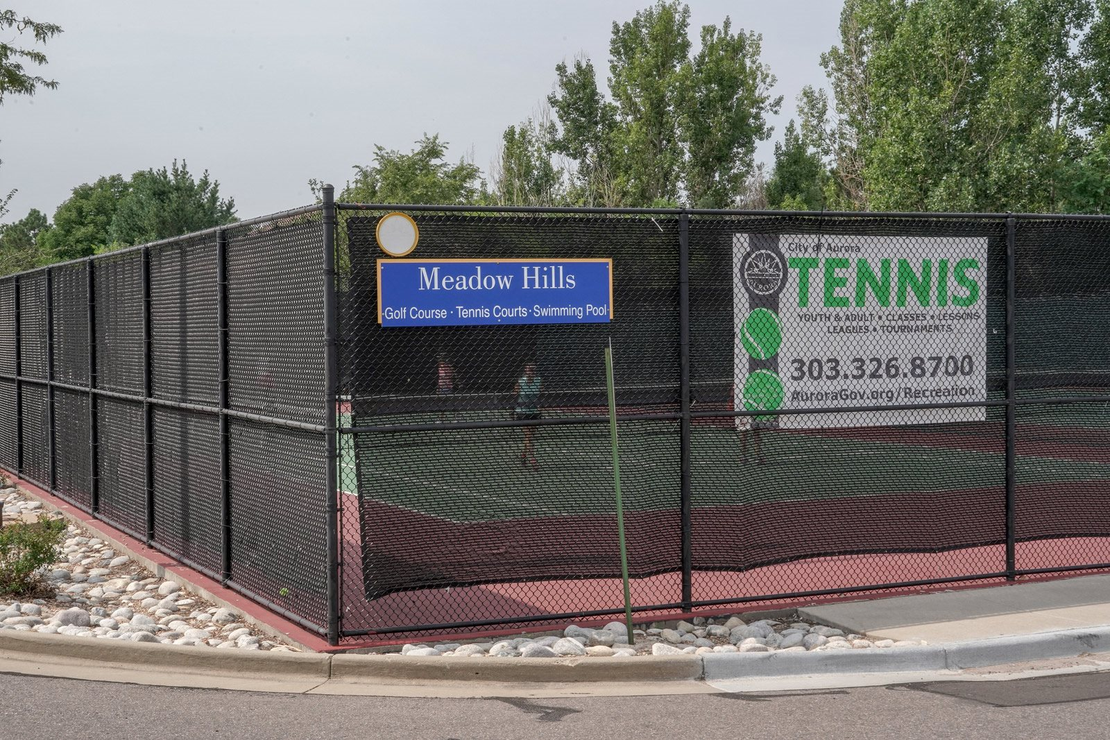 Tennis Court at Windsor at Meadow Hills, 4260 South Cimarron Way, Aurora