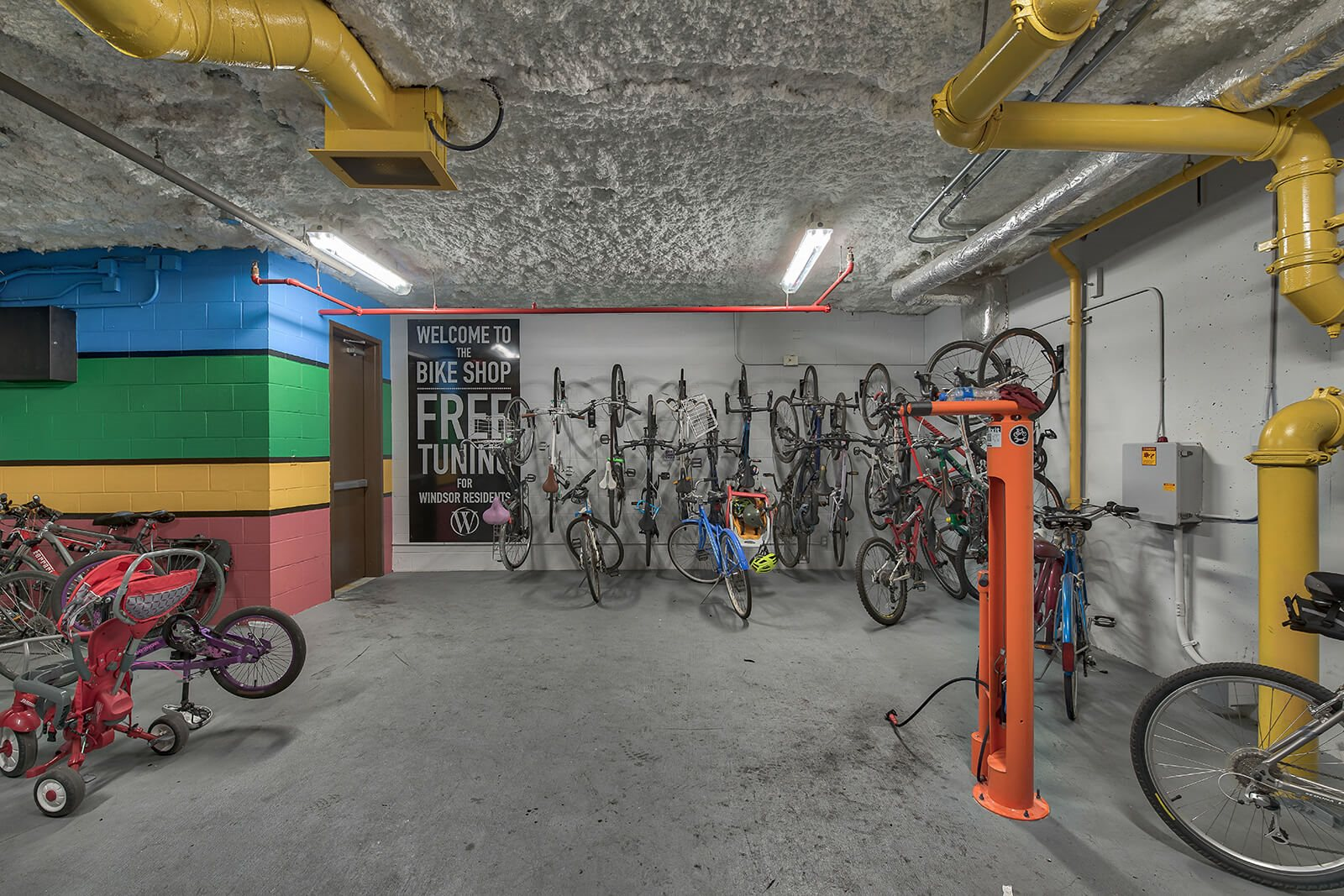 Covered Bike Storage at Windsor South Lamar, Texas, 78704