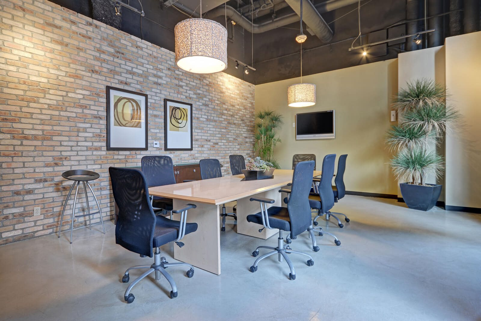 Business Center With Conference Table at Terraces at Paseo Colorado, California, 91101