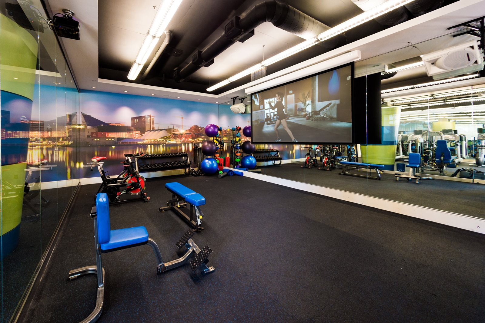 24-Hour, State-of-the-Art Fitness Center at Crescent at Fells Point by Windsor, Maryland, 21231