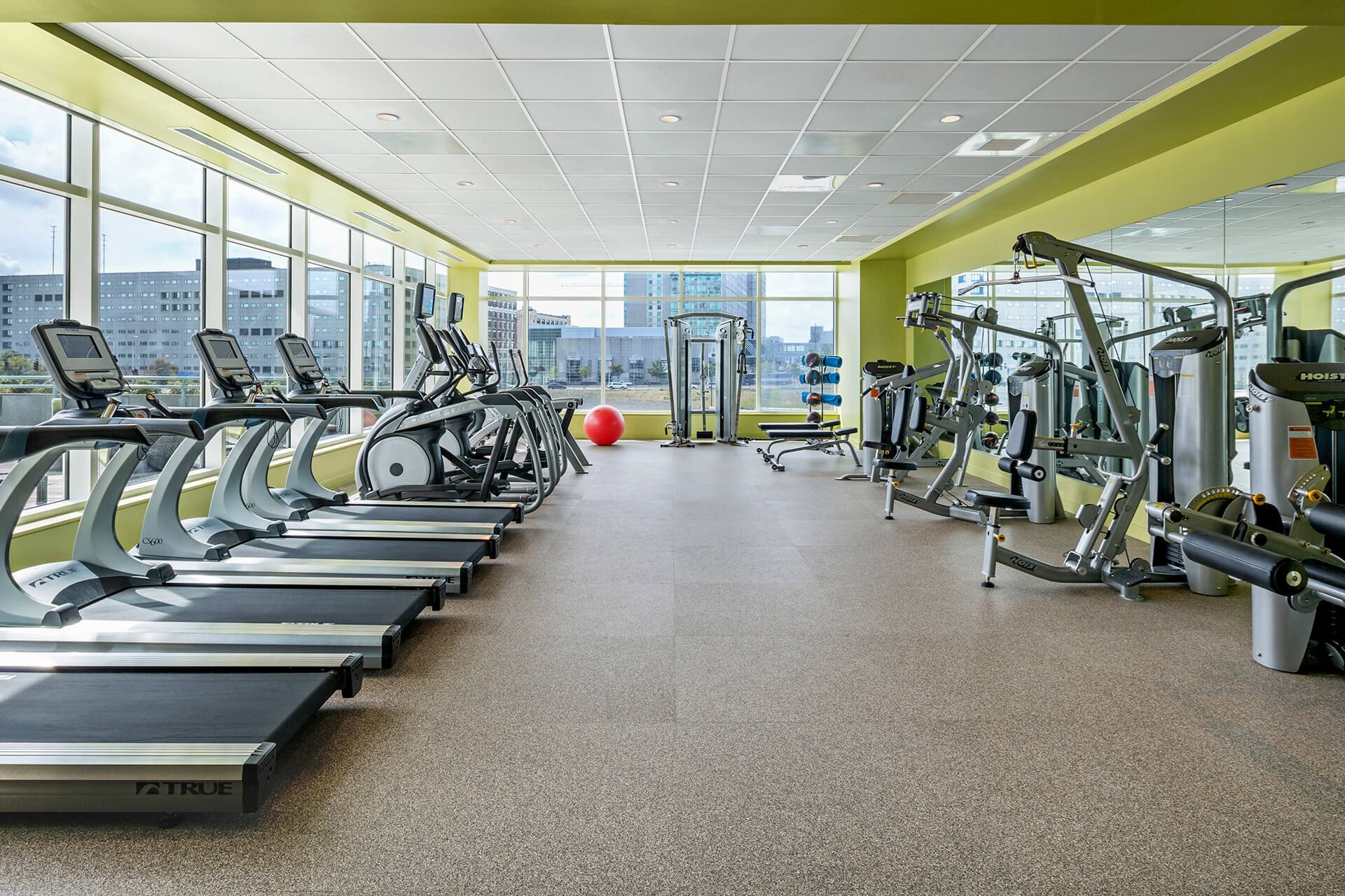 24-Hour Fitness Center at Waterside Place by Windsor, 505 Congress S, Boston