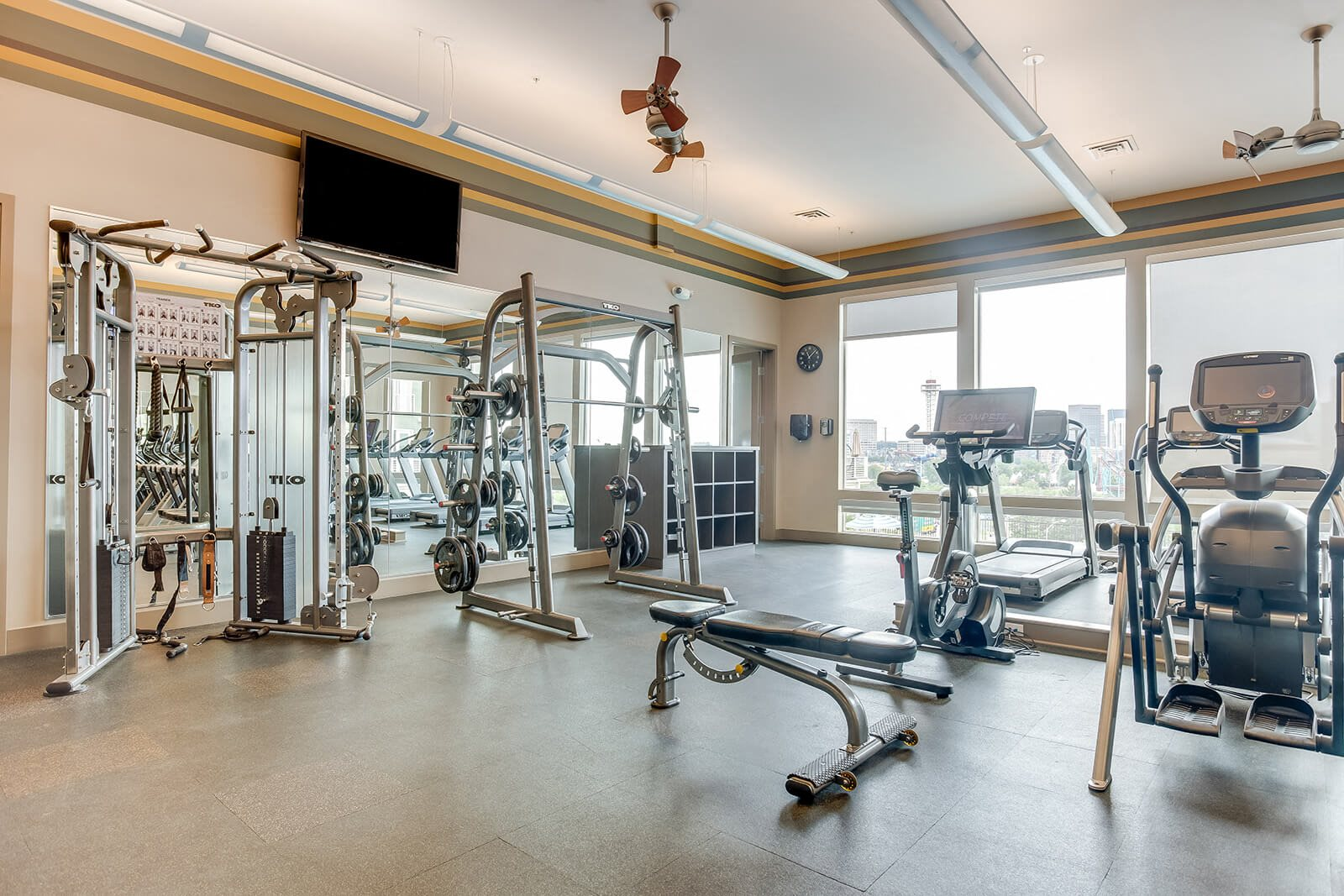 Fully-Equipped Fitness Center at Element 47 by Windsor, Colorado, 80211