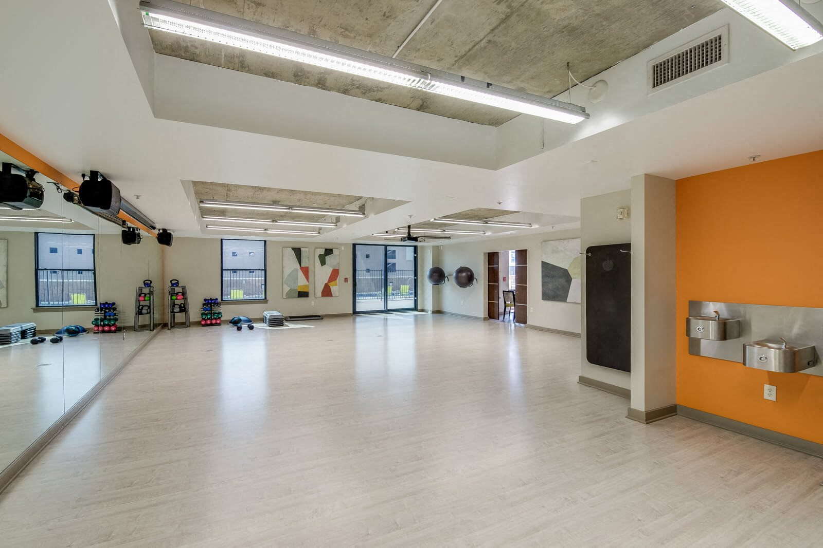 Yoga Room at The Manhattan, Colorado, 80202