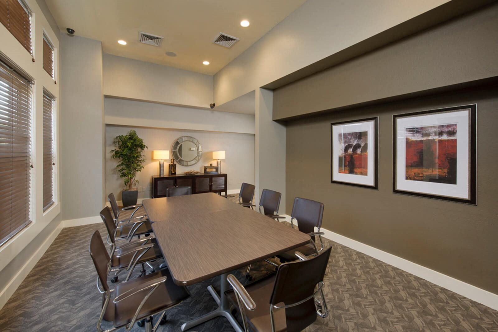 Conference Room at Windsor at Meridian, 9875 Jefferson Parkway, Englewood