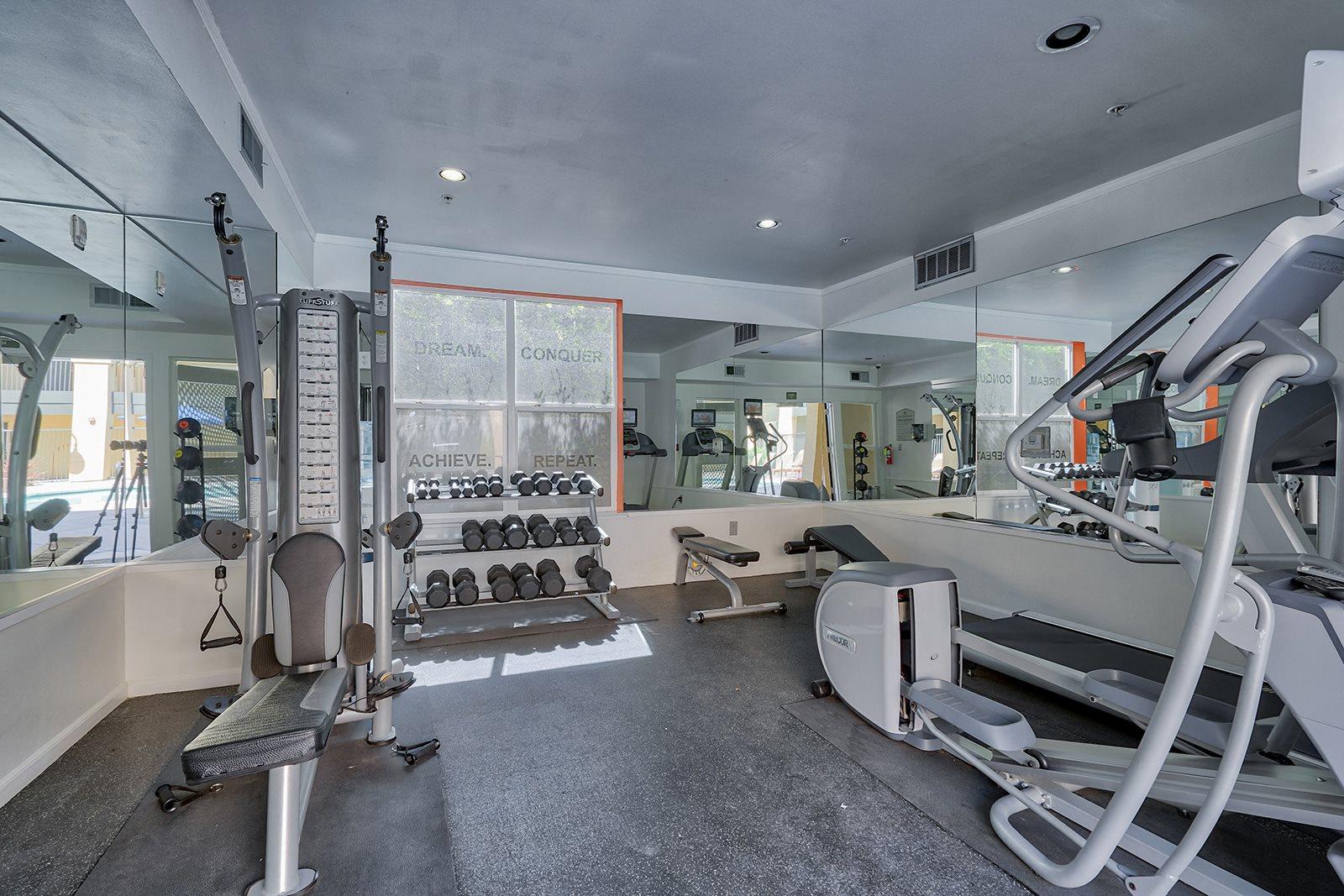 Cardio and Weights Equipments at Villa Montanaro, 94523
