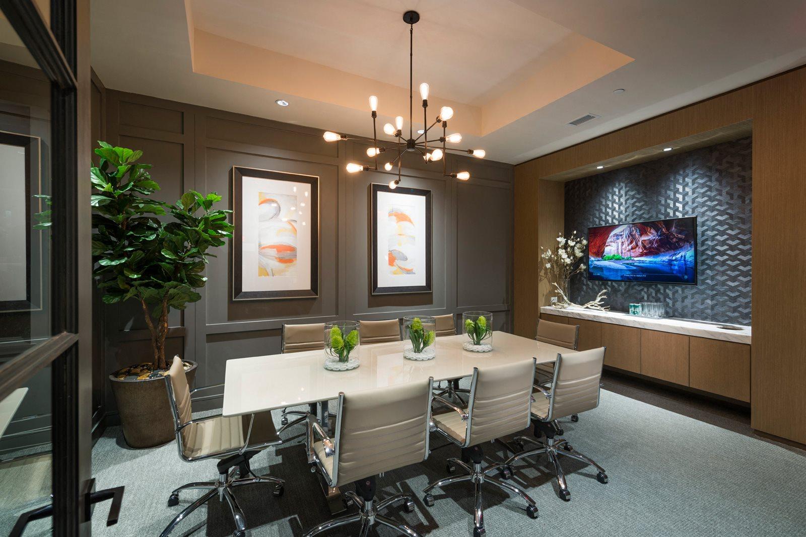 Resident Conference Room at Windsor Lantana Hills, Austin, TX