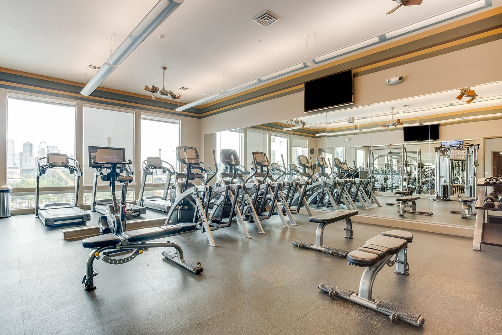 Modern Cardio Studio at Element 47 by Windsor, 80211, CO