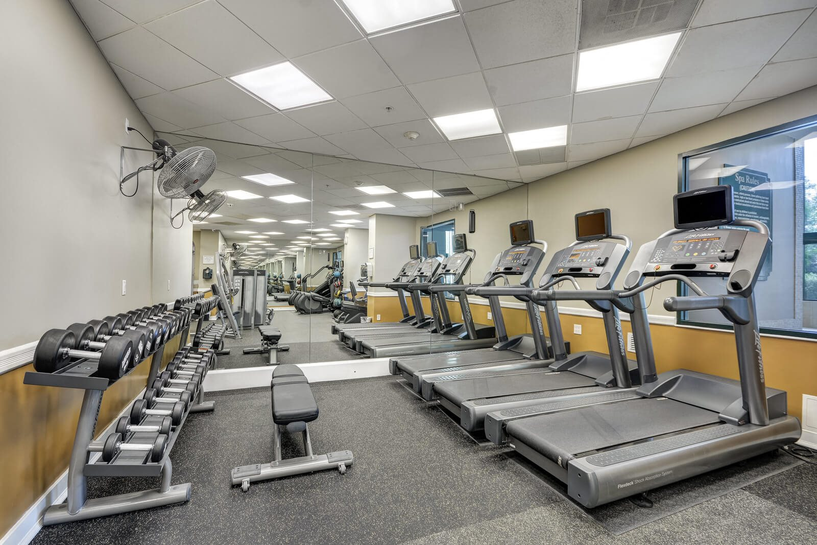 Newly Renovated, State-of-the-Art Fitness Center at Windsor at Mariners, Edgewater, 07020