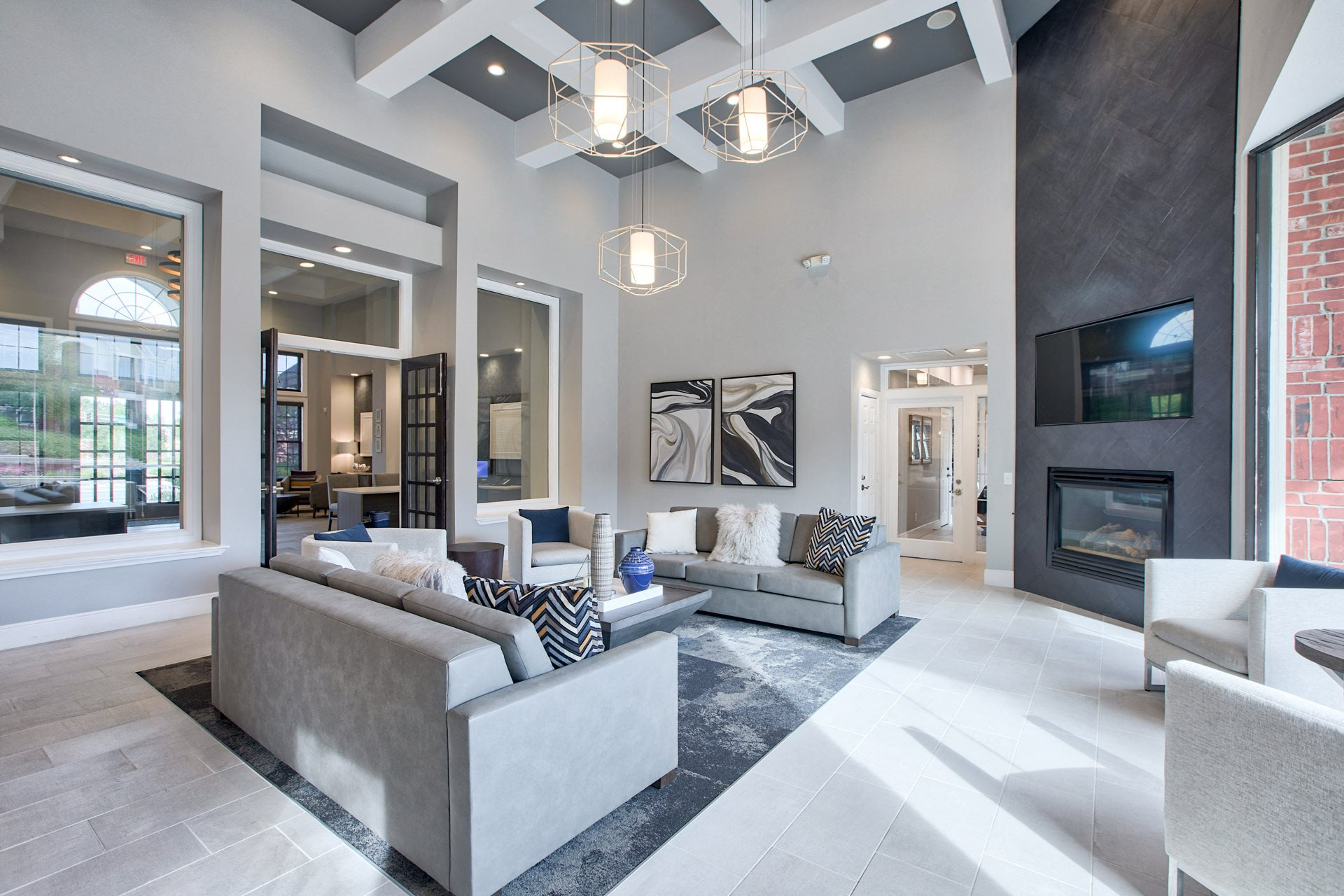 Modern Clubhouse at Windsor at Meadow Hills, 80014, CO