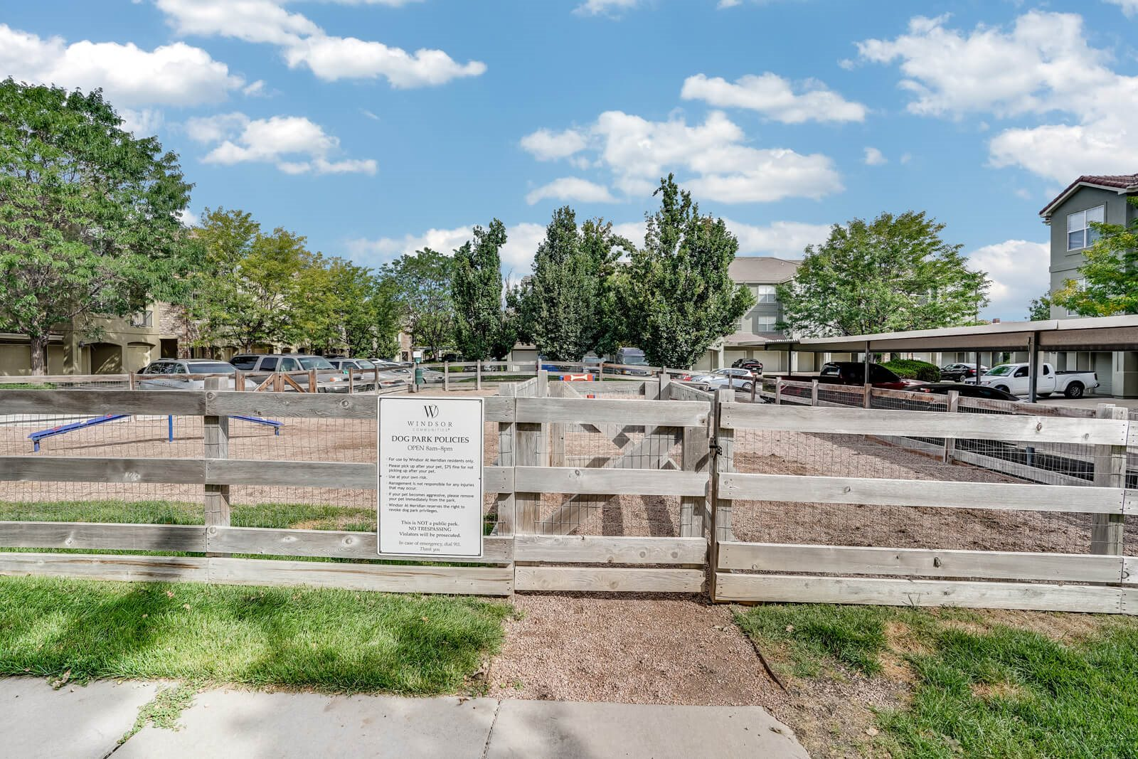 Pet-Friendly Community with Large Dog Park at Windsor at Meridian, Englewood, CO