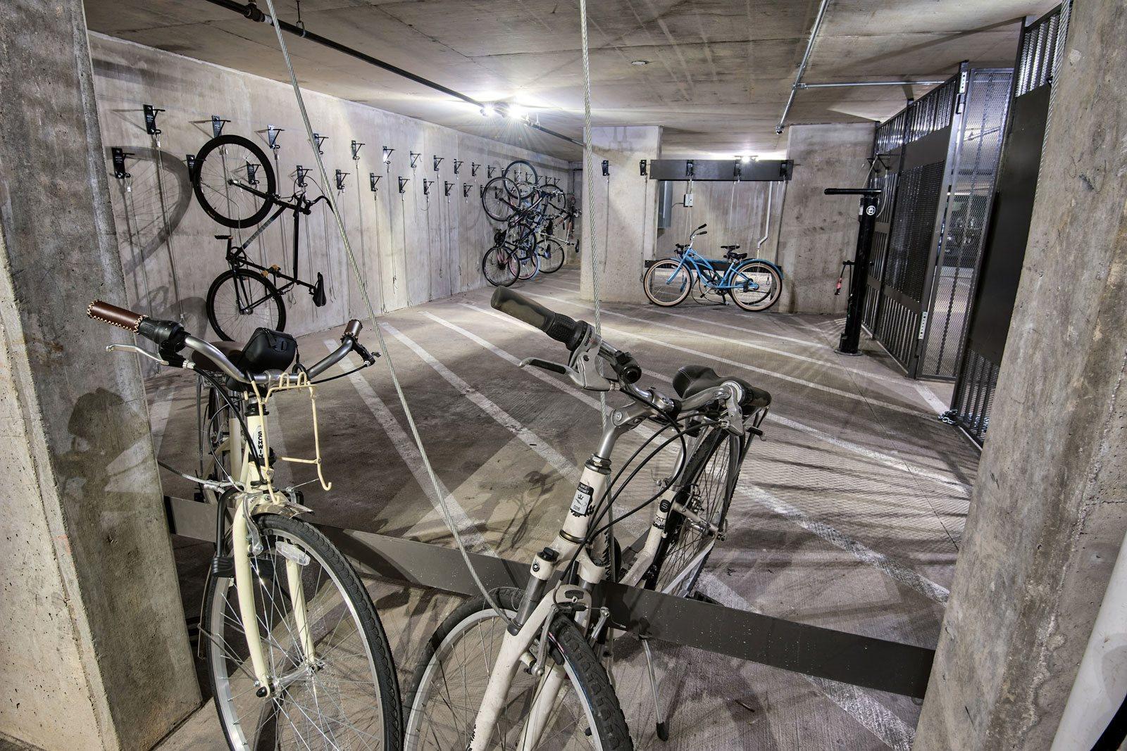 On-Site Bike Storage at Midtown Houston by Windsor, Houston, TX