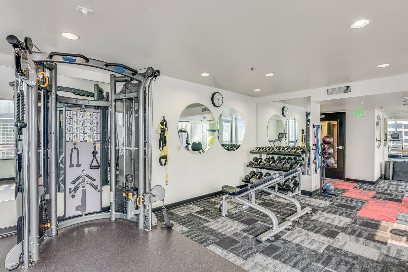 State-of-the-Art Fitness Center at The Martin, 98121, WA