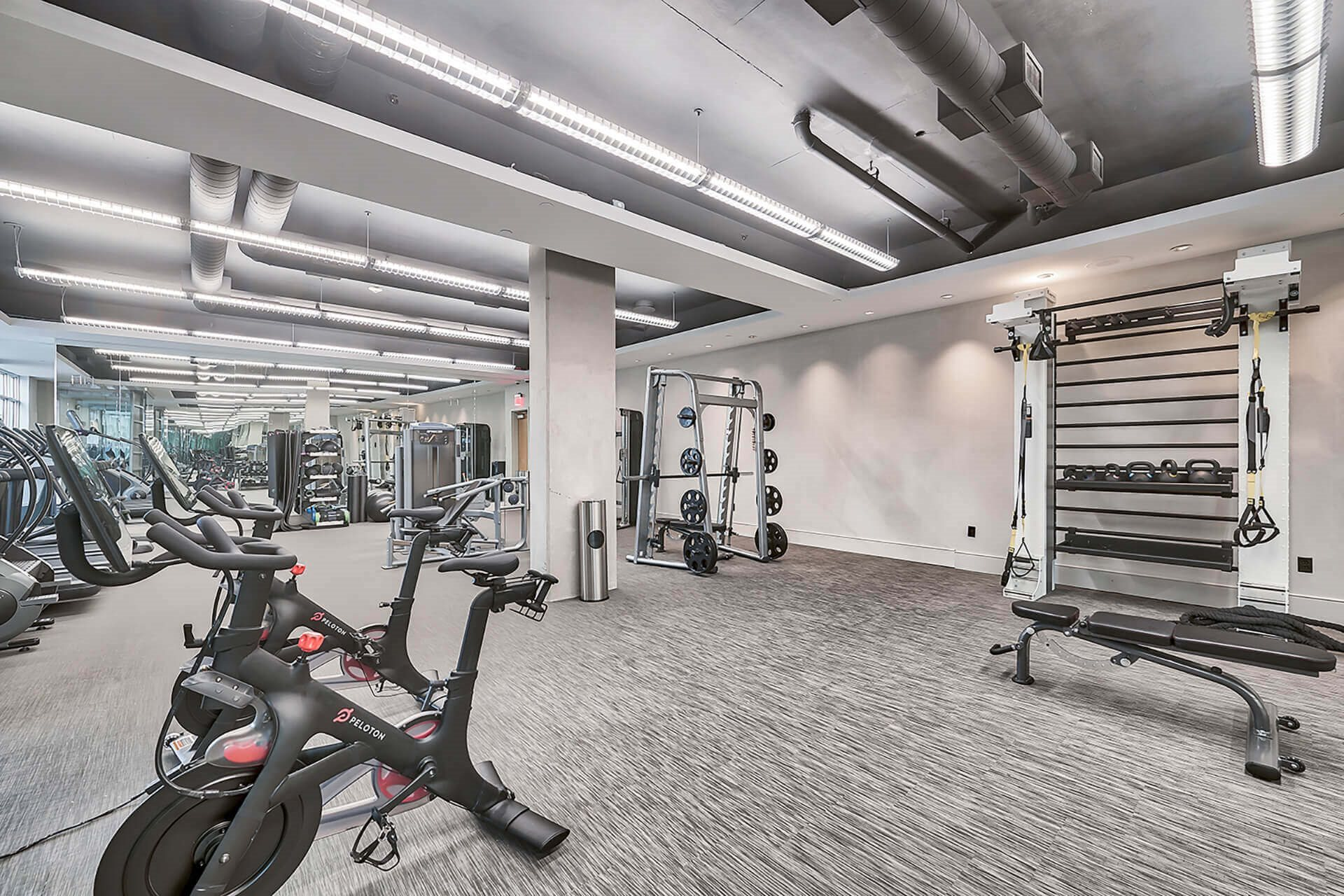 24/7 fitness center at Crescent at Fells Point by Windsor, Maryland, 21231