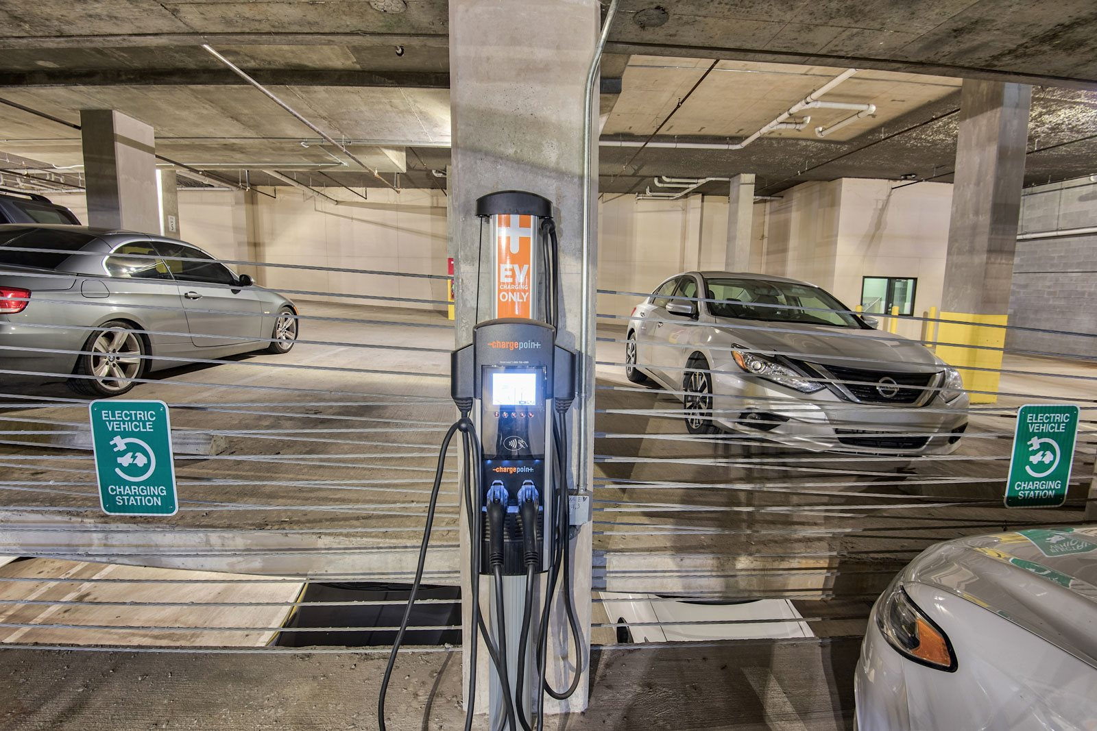Electric Vehicle Charging Stations at Midtown Houston by Windsor, 2310 Main Street, Houston