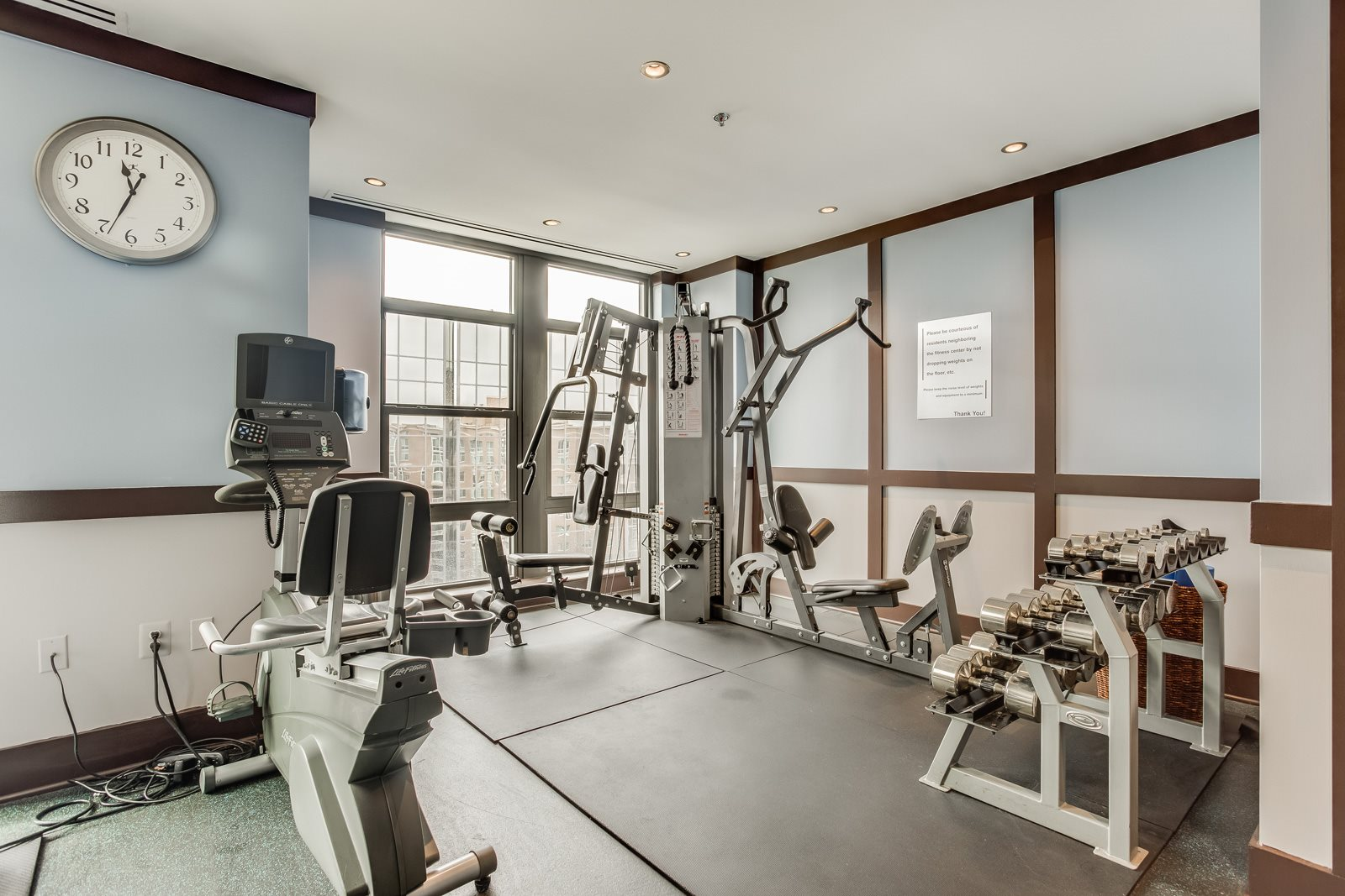 Fully-Equipped Fitness Center at Halstead Tower by Windsor, Virginia, 22302