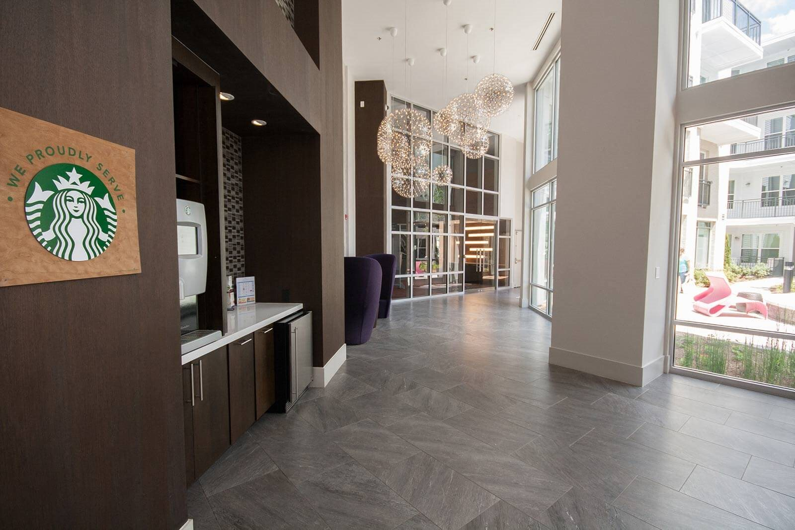 Coffee Bar with Starbucks Machine at Morningside Atlanta by Windsor, 30324, GA