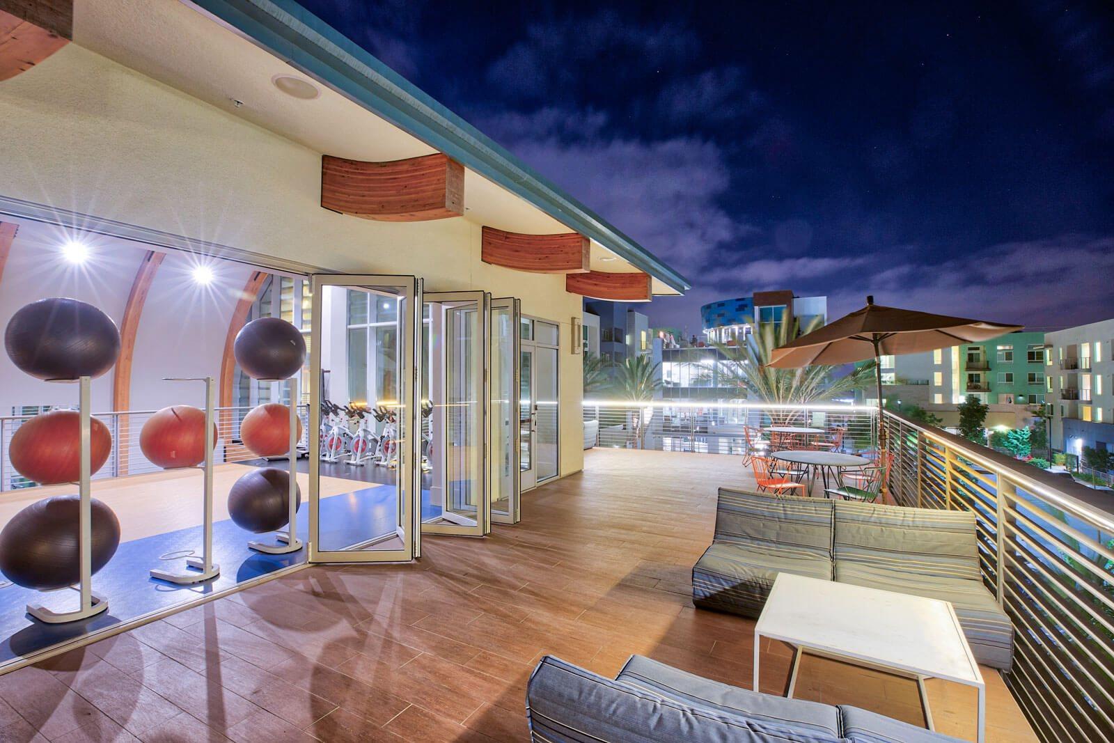 Yoga Sun Deck at Boardwalk by Windsor, Huntington Beach, California