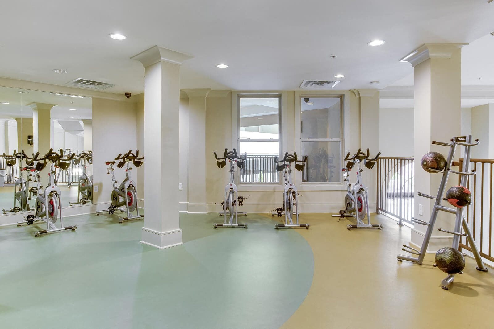Peloton Spin Bikes for On-Demand Fitness Classes at Windsor at Glenridge, 5610 Glenridge Drive, GA