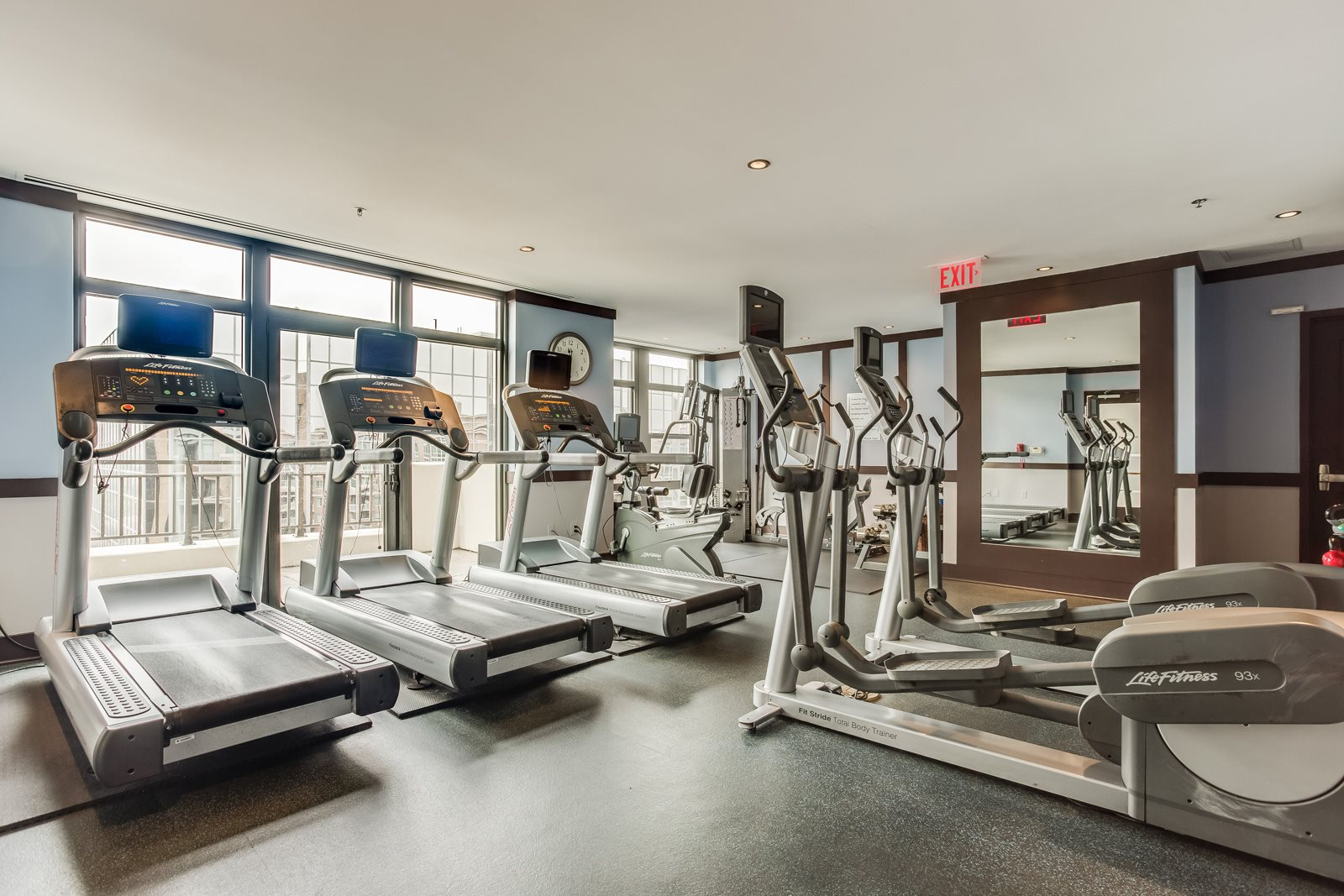 Cardio Equipment by Windows at Halstead Tower by Windsor, 22302, VA