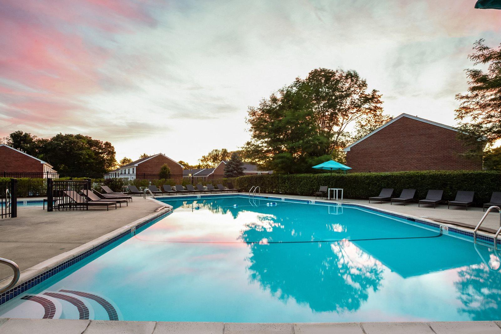 Relaxing Pool at Windsor Ridge at Westborough, Westborough, MA