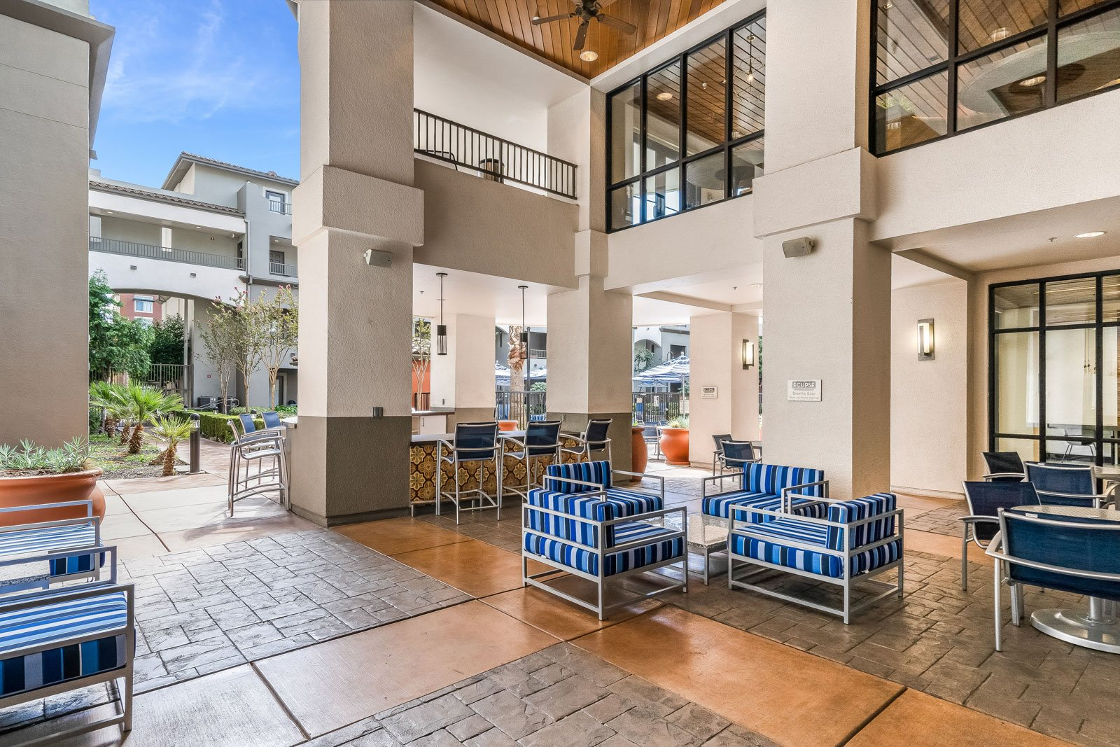 Indoor/Outdoor Lounge with Stunning Views at Dublin Station by Windsor, California, 94568