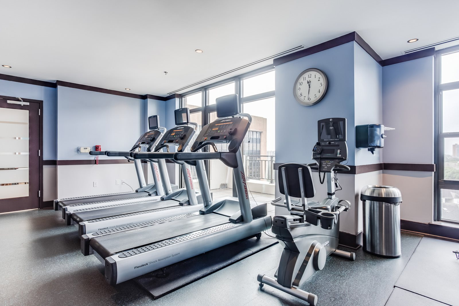 Life Fitness Equipment with Built-In Entertainment at Halstead Tower by Windsor, 4380 King Street, VA