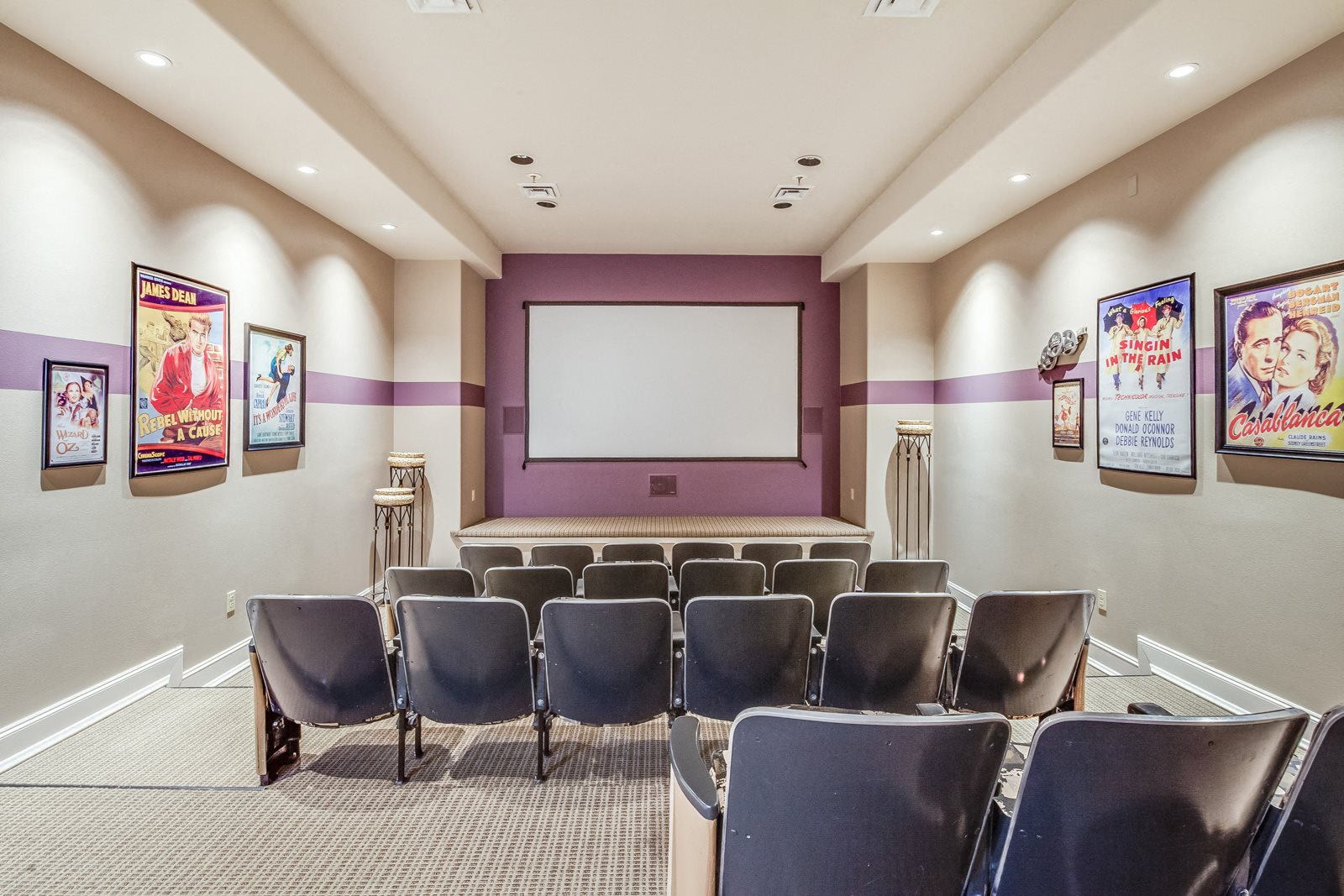 Club 1201 Cinema Room at Platform 14, Hillsboro, Oregon