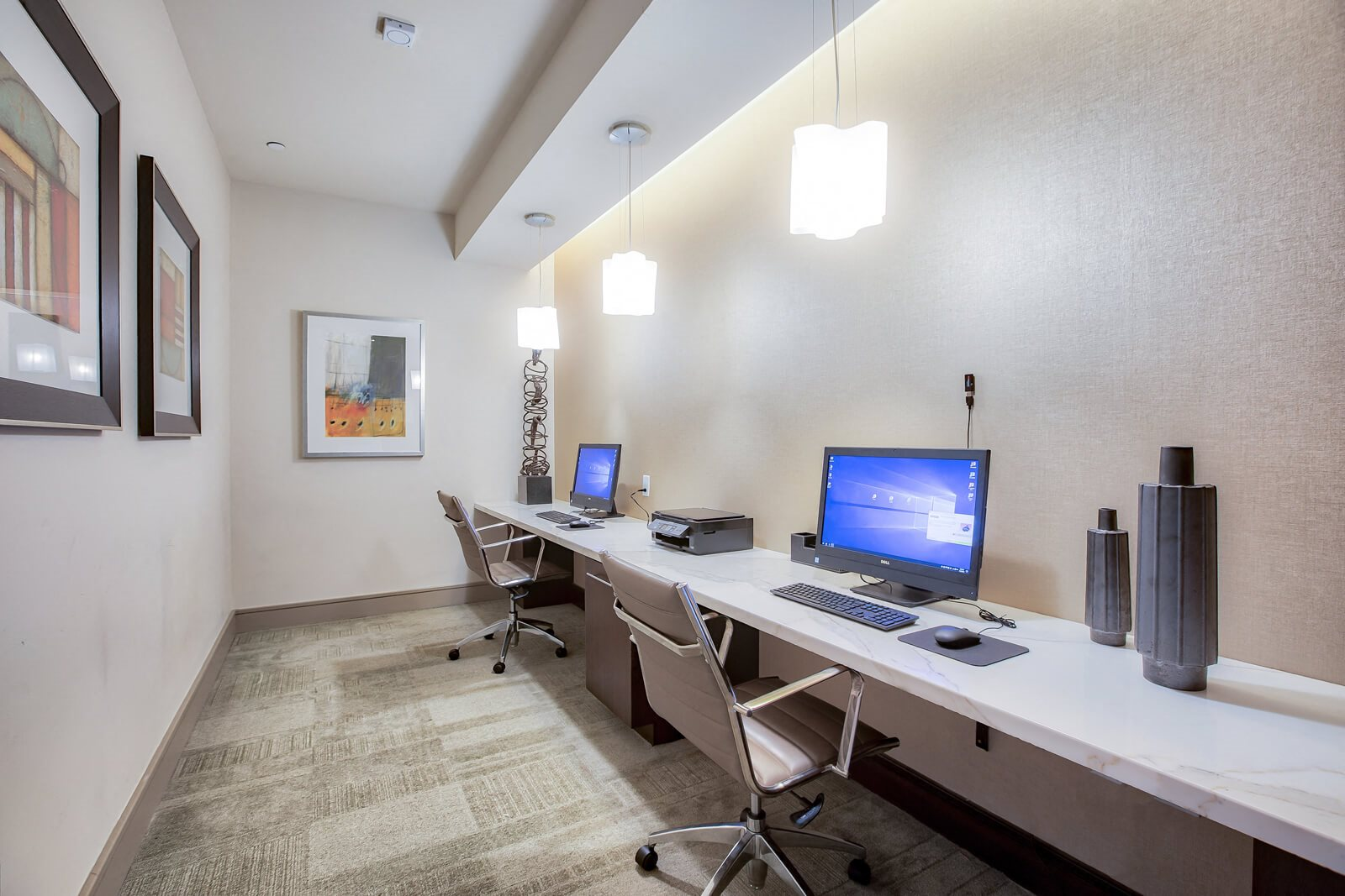 Business Center With High Speed Internet at Windsor at Cambridge Park, 02140, MA