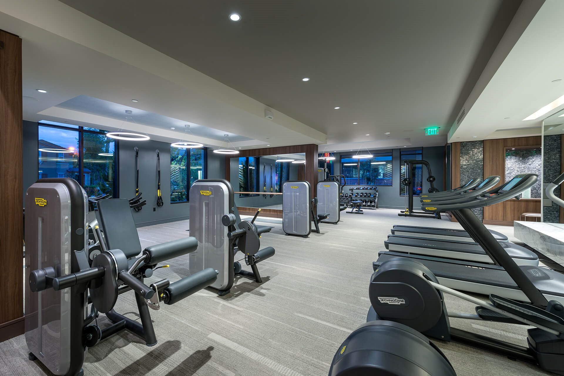 TechnoGym Cardio Equipment at Cannery Park by Windsor, San Jose, CA