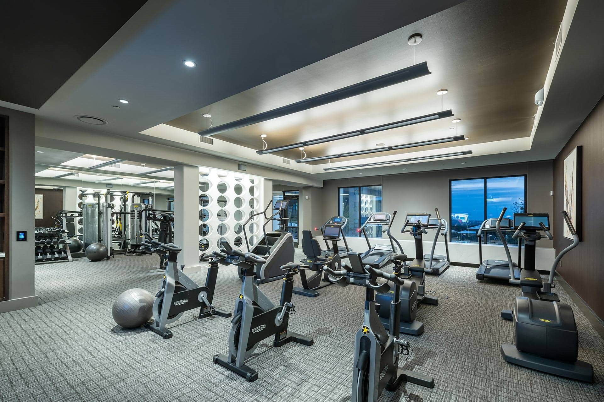 State-of-the-Art Fitness Center at Windsor Oak Hill, 6701 Rialto Blvd, TX