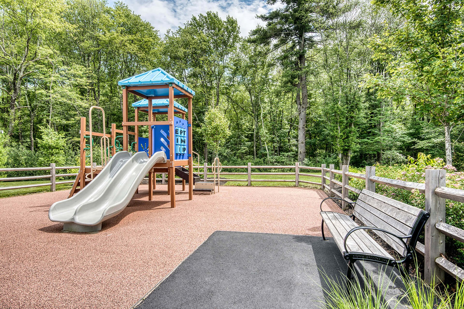 Outdoor playground, at Hopkinton by Windsor, Hopkinton, 01748