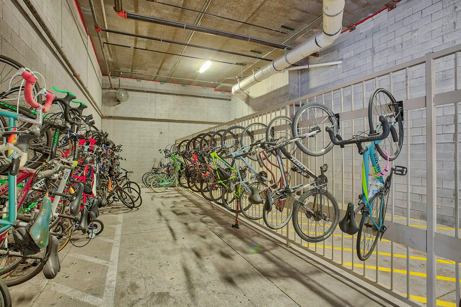 Bike Racks at Glass House by Windsor, Dallas, TX