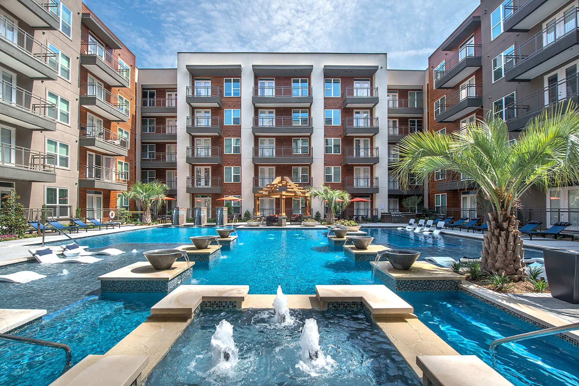 Outdoor Lounge at Windsor by the Galleria, Dallas, TX