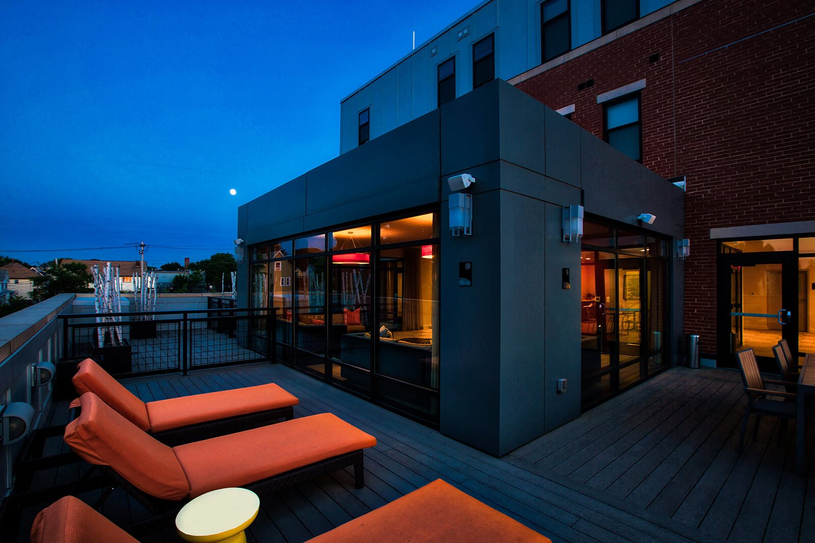 Rooftop Sundeck with Gorgeous Views at Windsor at Maxwells Green, Somerville, 02144