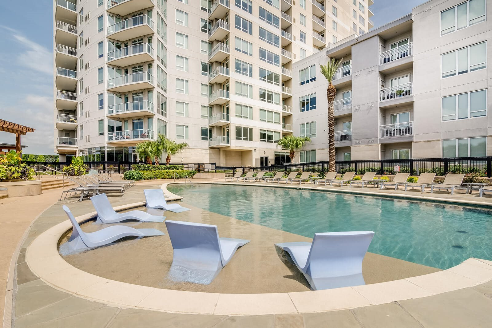 Stunning, Resort-Style Pool at Memorial by Windsor, Houston, Texas