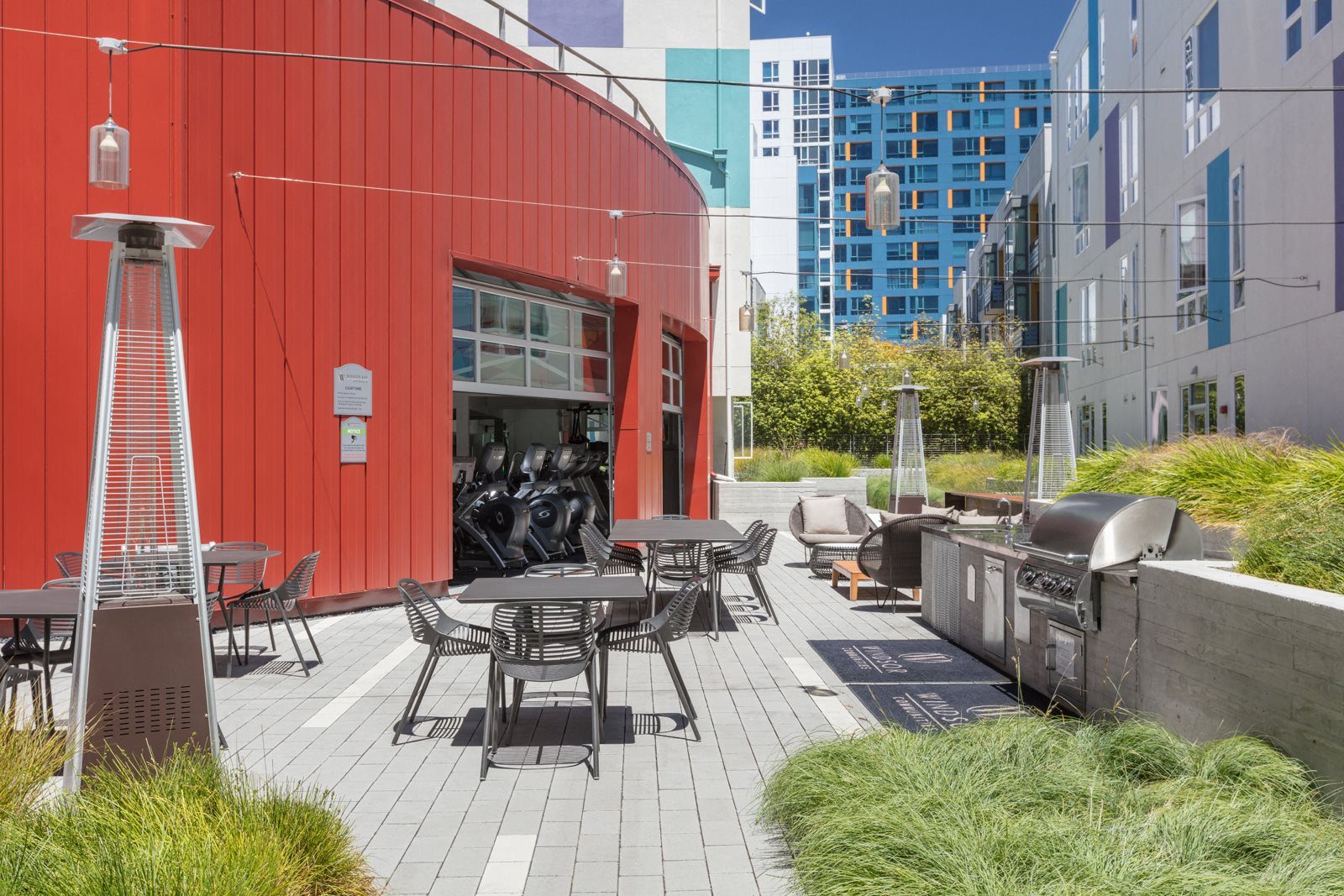 Courtyard Garden at Mission Bay by Windsor, California, 94158
