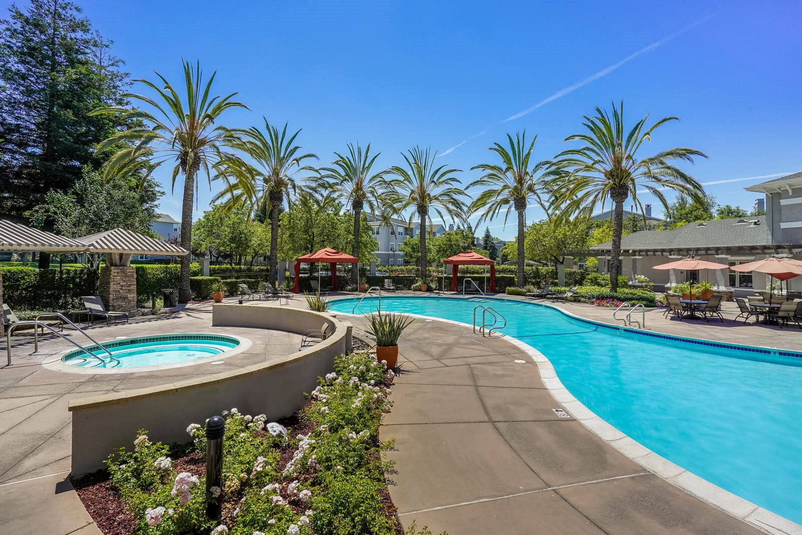 Shimmering Swimming Pool at The Estates at Park Place, Fremont, 94538