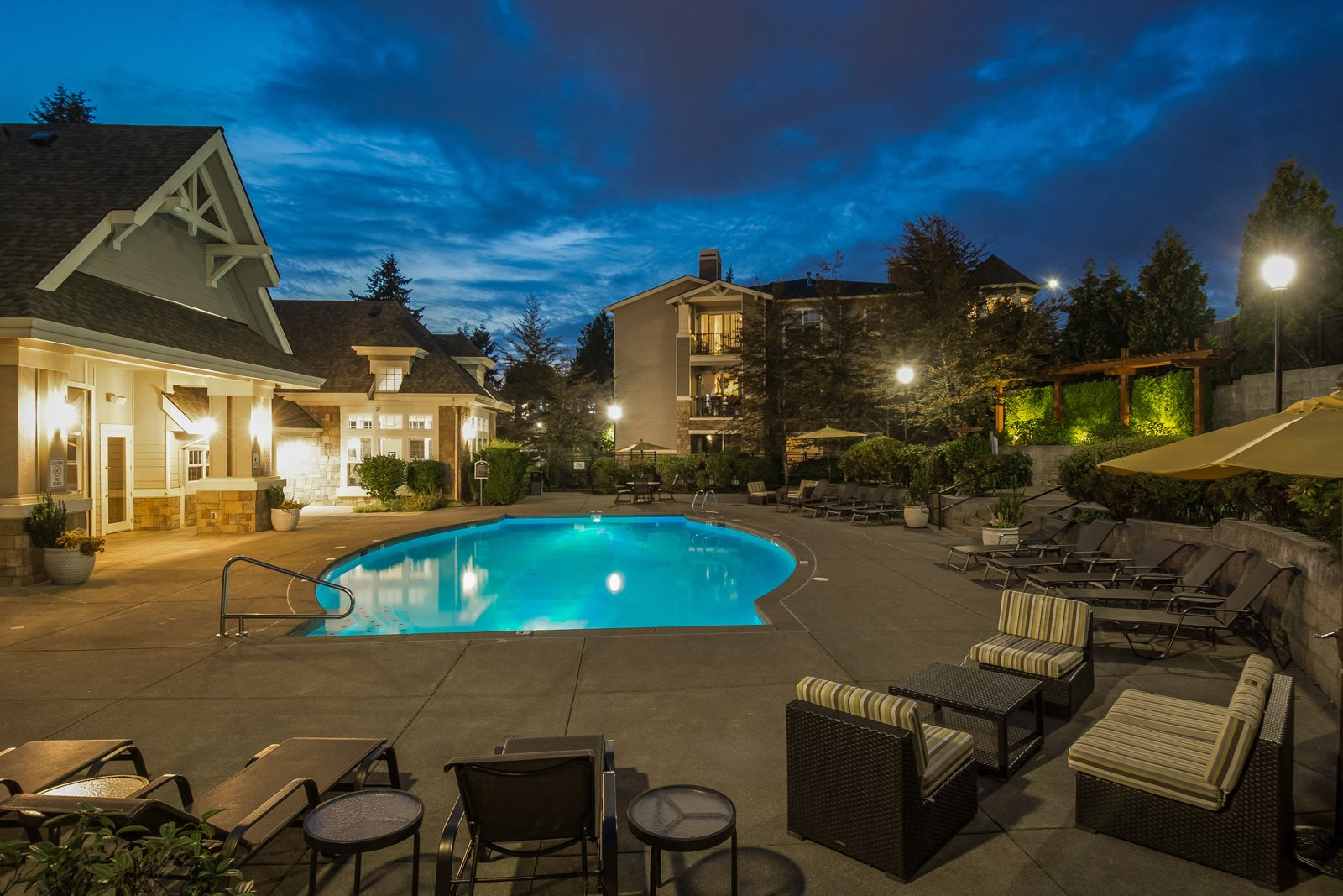 Resort-Style Pool at Reflections by Windsor, 6332 E. Lake Sammamish Parkway NE, Redmond
