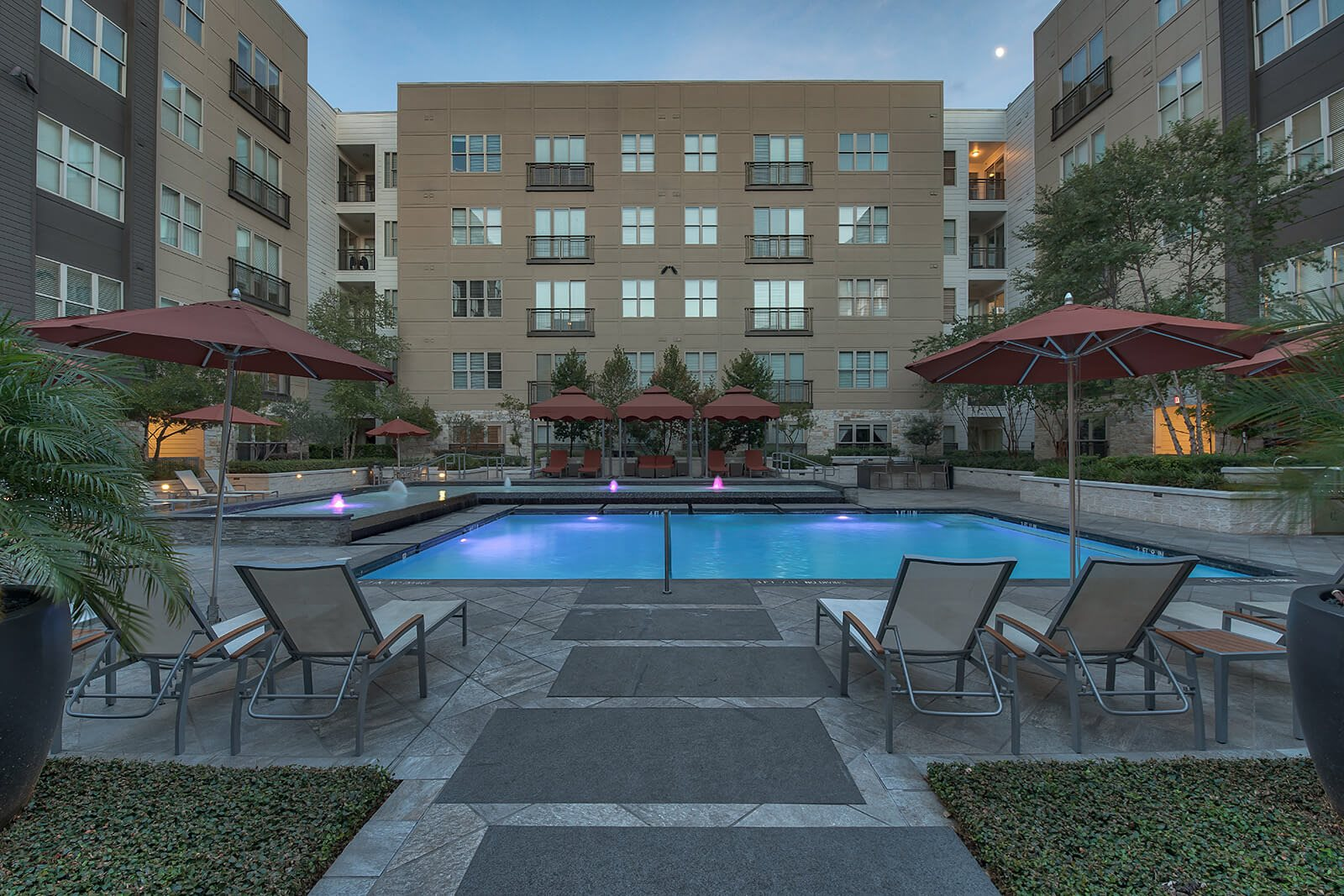 Resort-Style Pool at Windsor South Lamar, Austin, TX