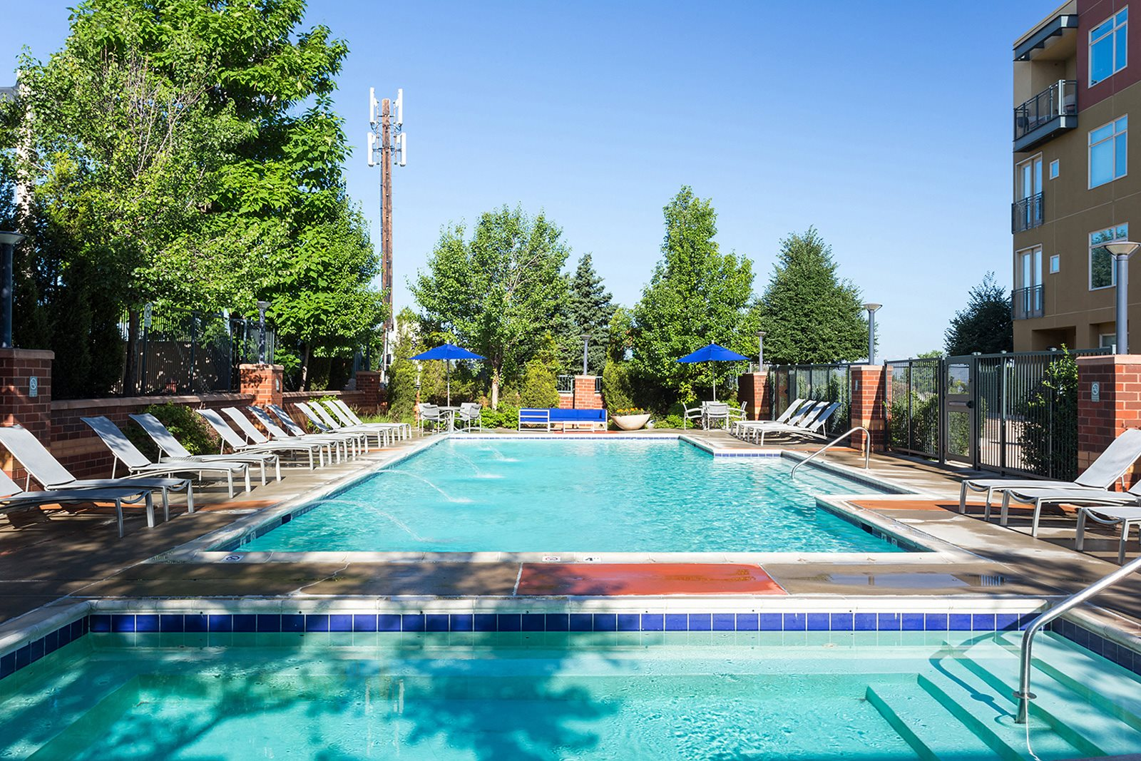 Resort-Style Pool at The District, CO,