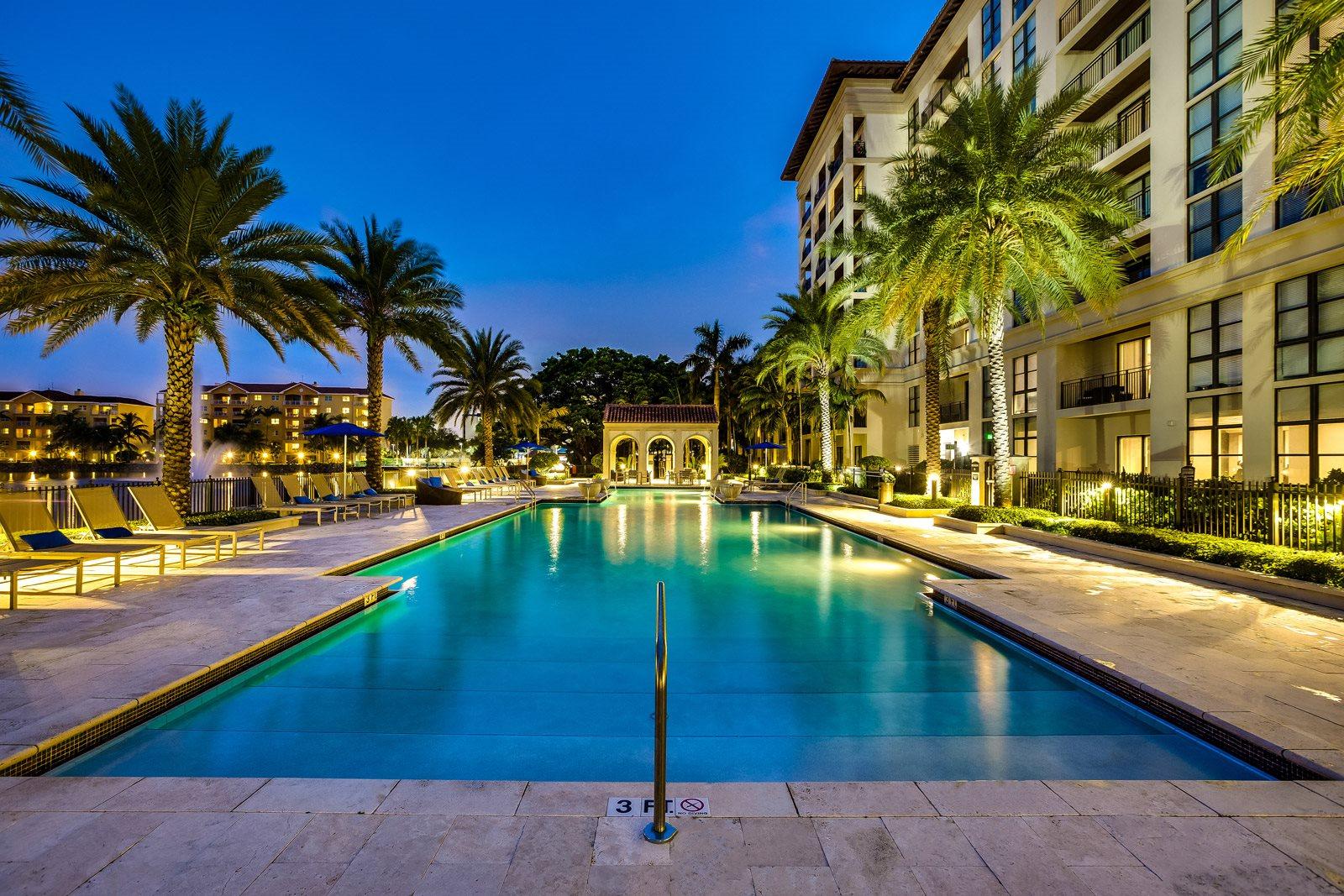 Resort-Style Pool at Windsor at Doral, Doral, FL