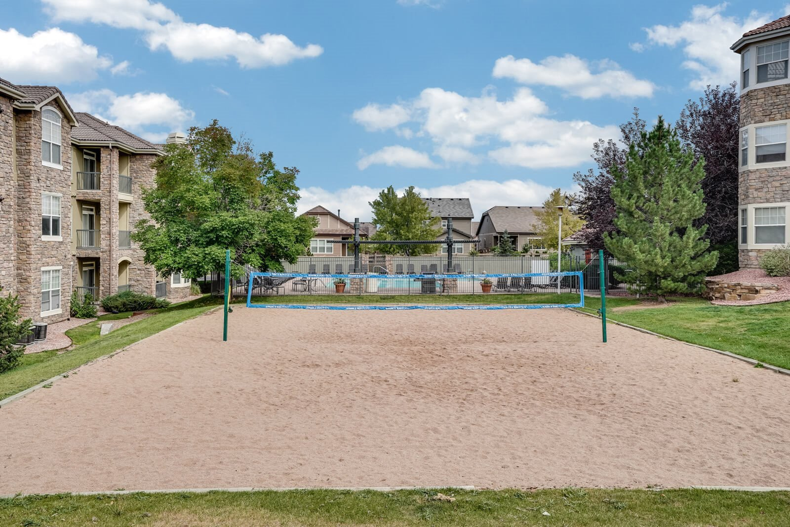 Sand Volleyball Court at Windsor at Meridian, Englewood, CO