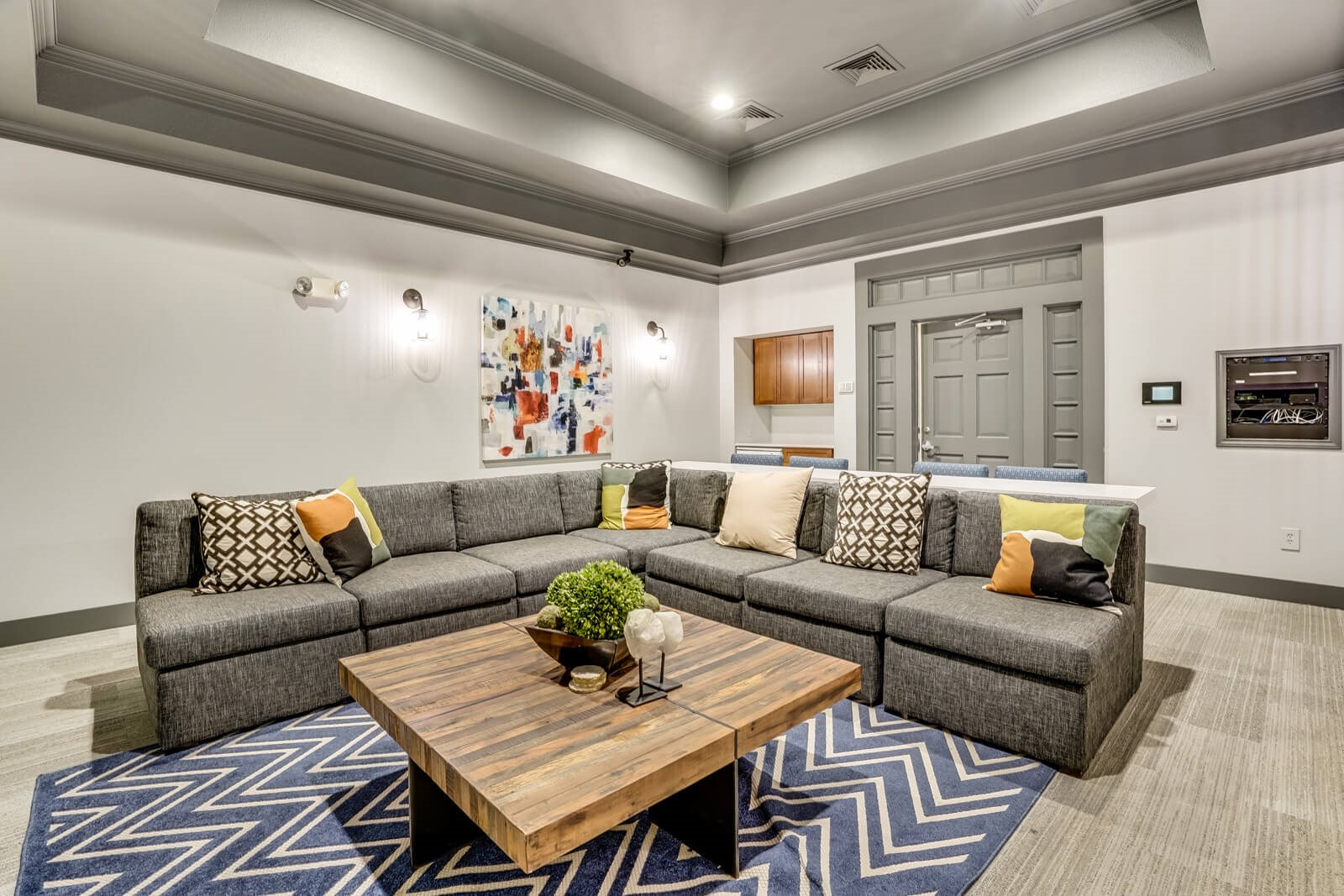 Host a Movie or Gaming Night in Media Room at Windsor at Meridian, 9875 Jefferson Parkway, CO